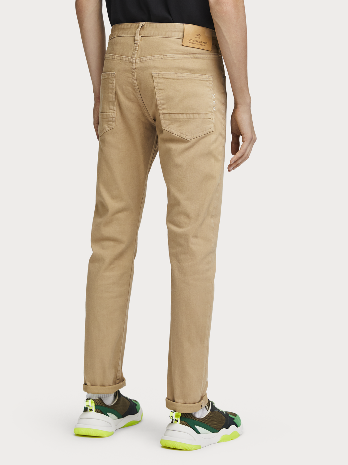 Men Ralston - Garment Dyed Jeans | Regular slim fit