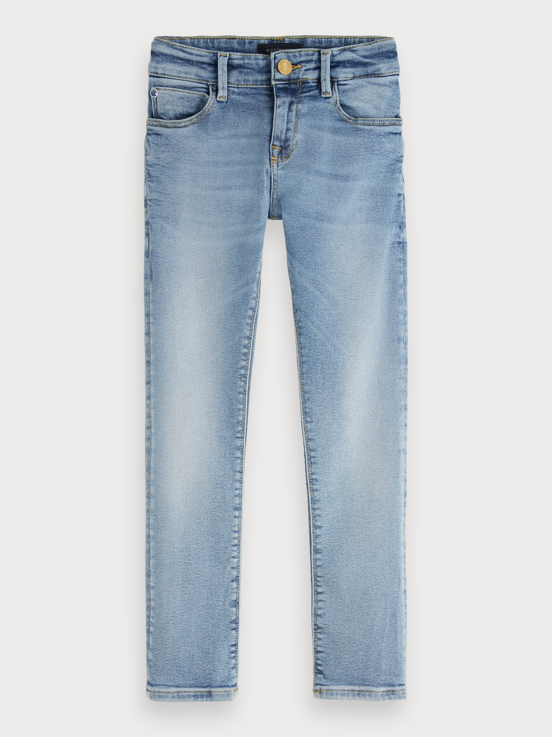 Boys Extra Super Skinny Fit Jeans - Denim Canvas