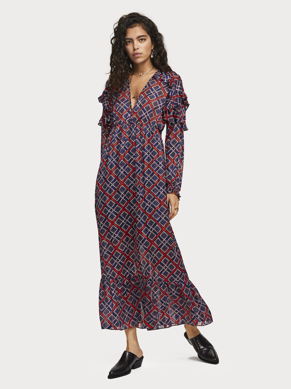 Women Printed Maxi Dress