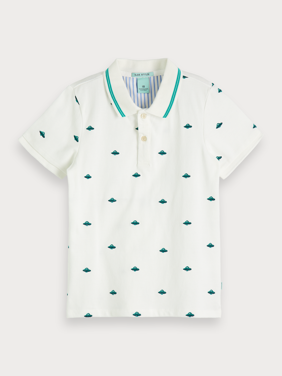 Boys Embroidered Polo