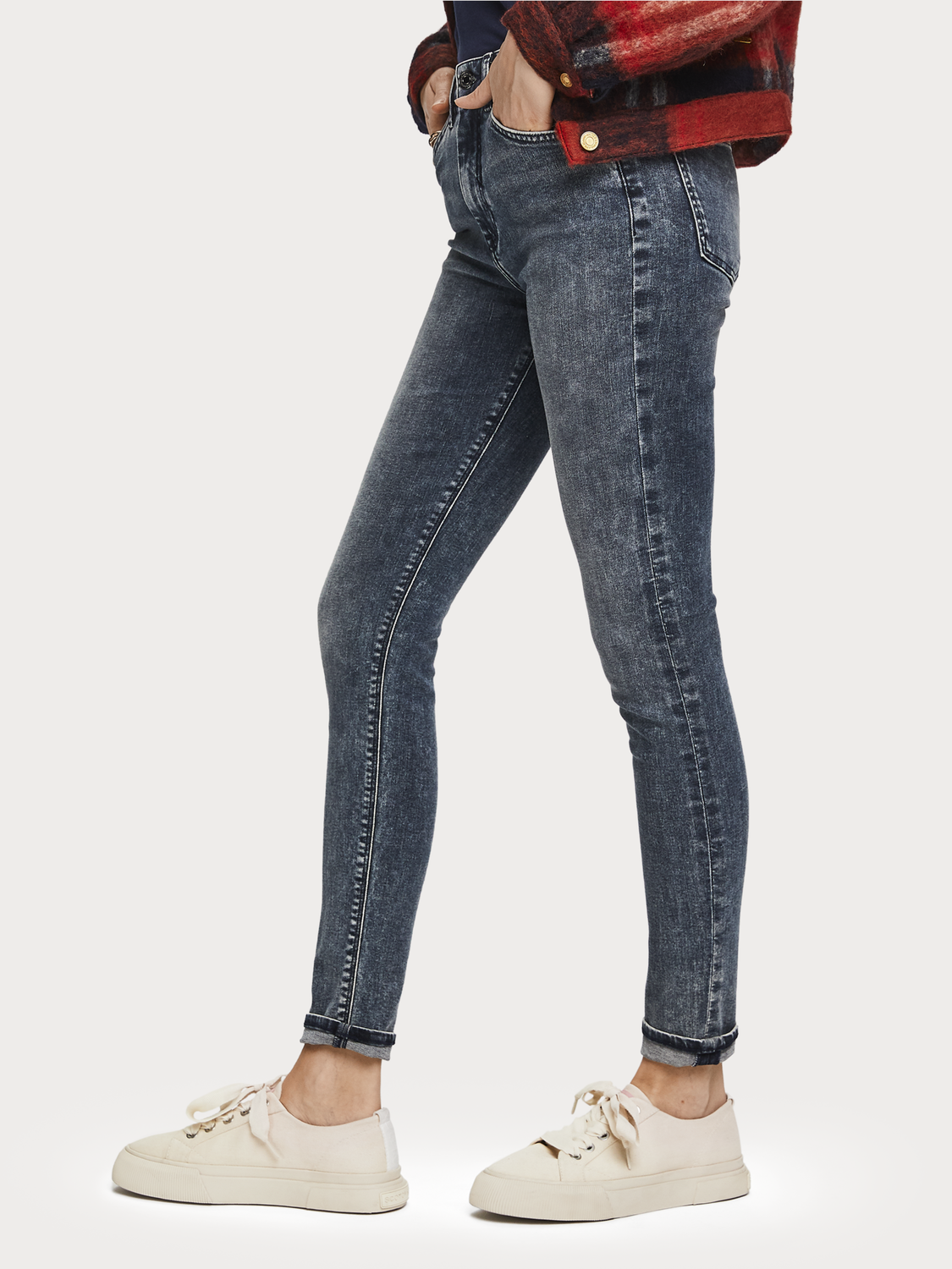 Dames Haut - Assembly Line | High-rise skinny fit