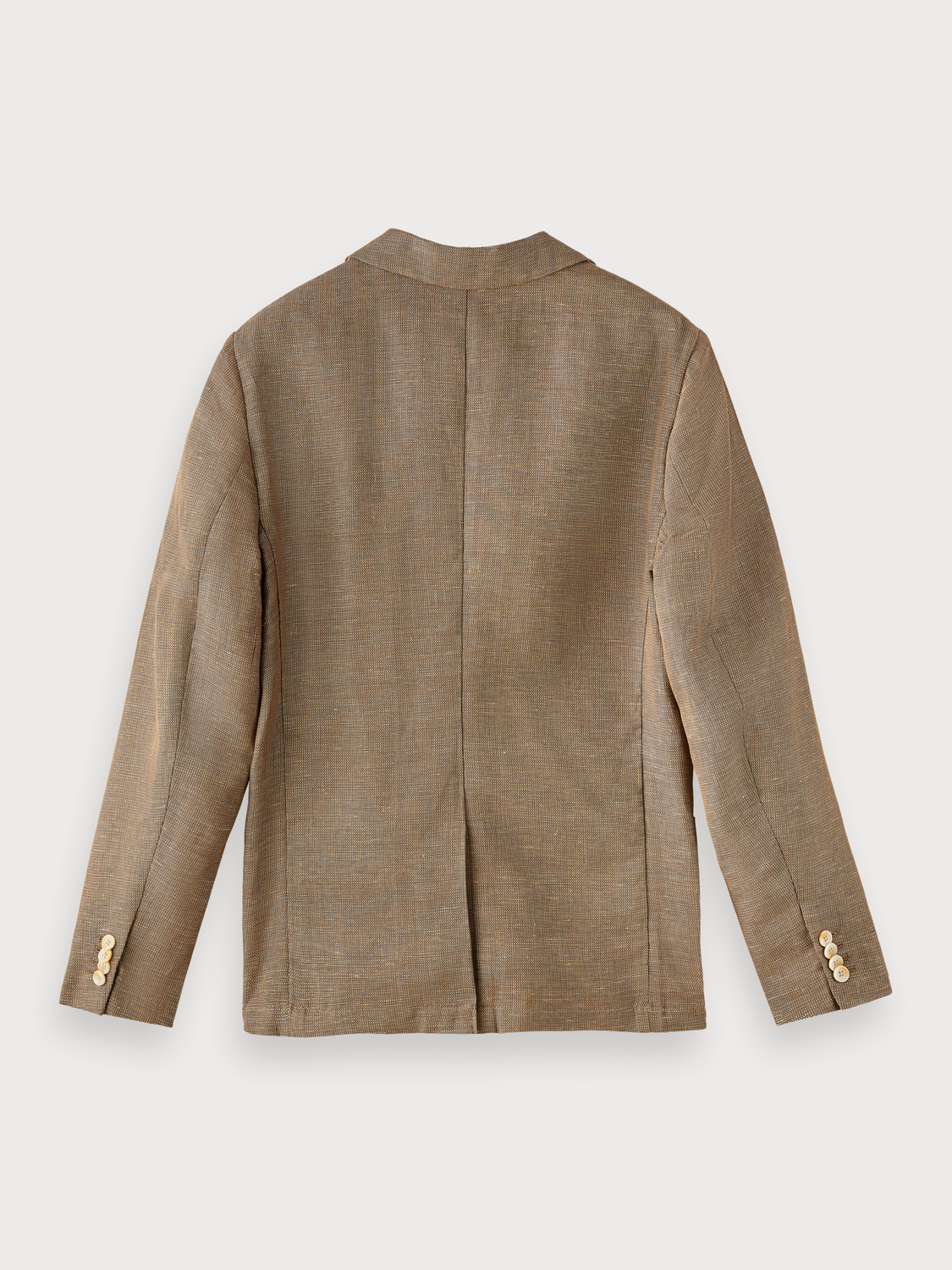 Men Cotton-linen blazer