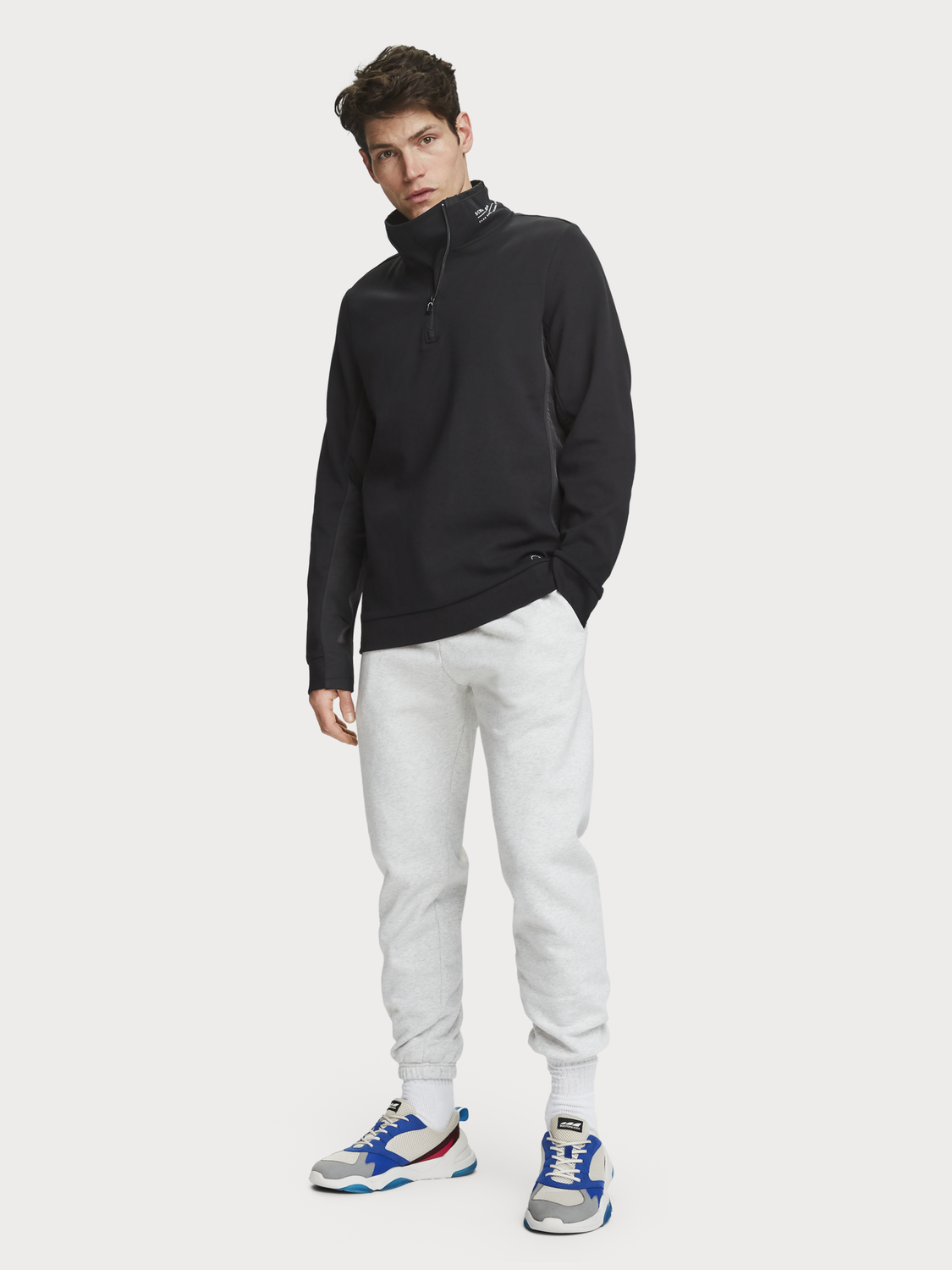 Men Half-Zip Sweater