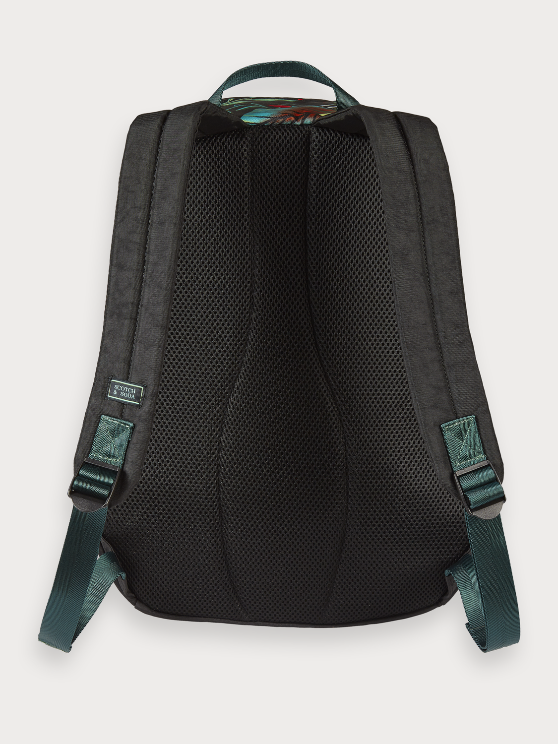 Boys Printed Nylon Backpack