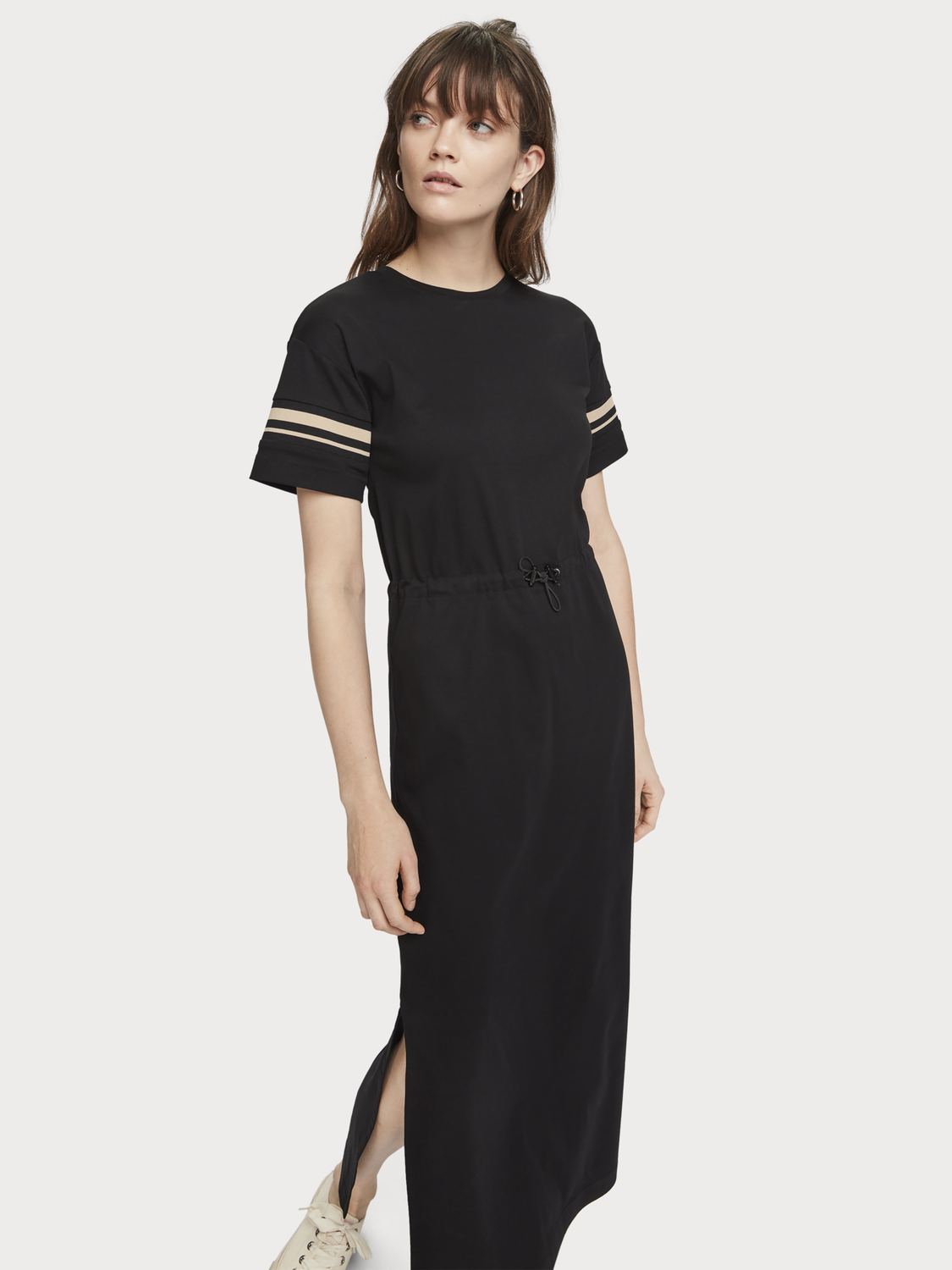 Women Long T-Shirt Dress