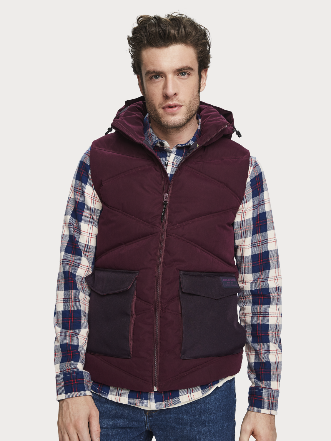 Men Quilted Bodywarmer