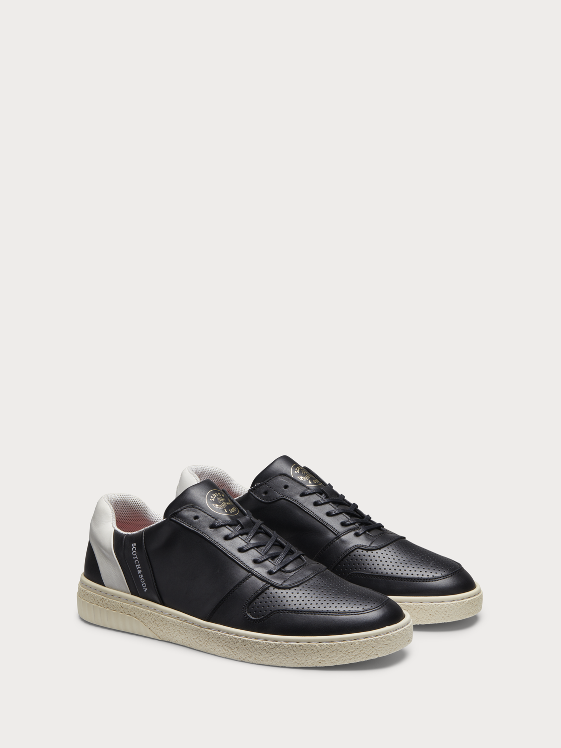 Homme Brilliant - Sneakers en cuir