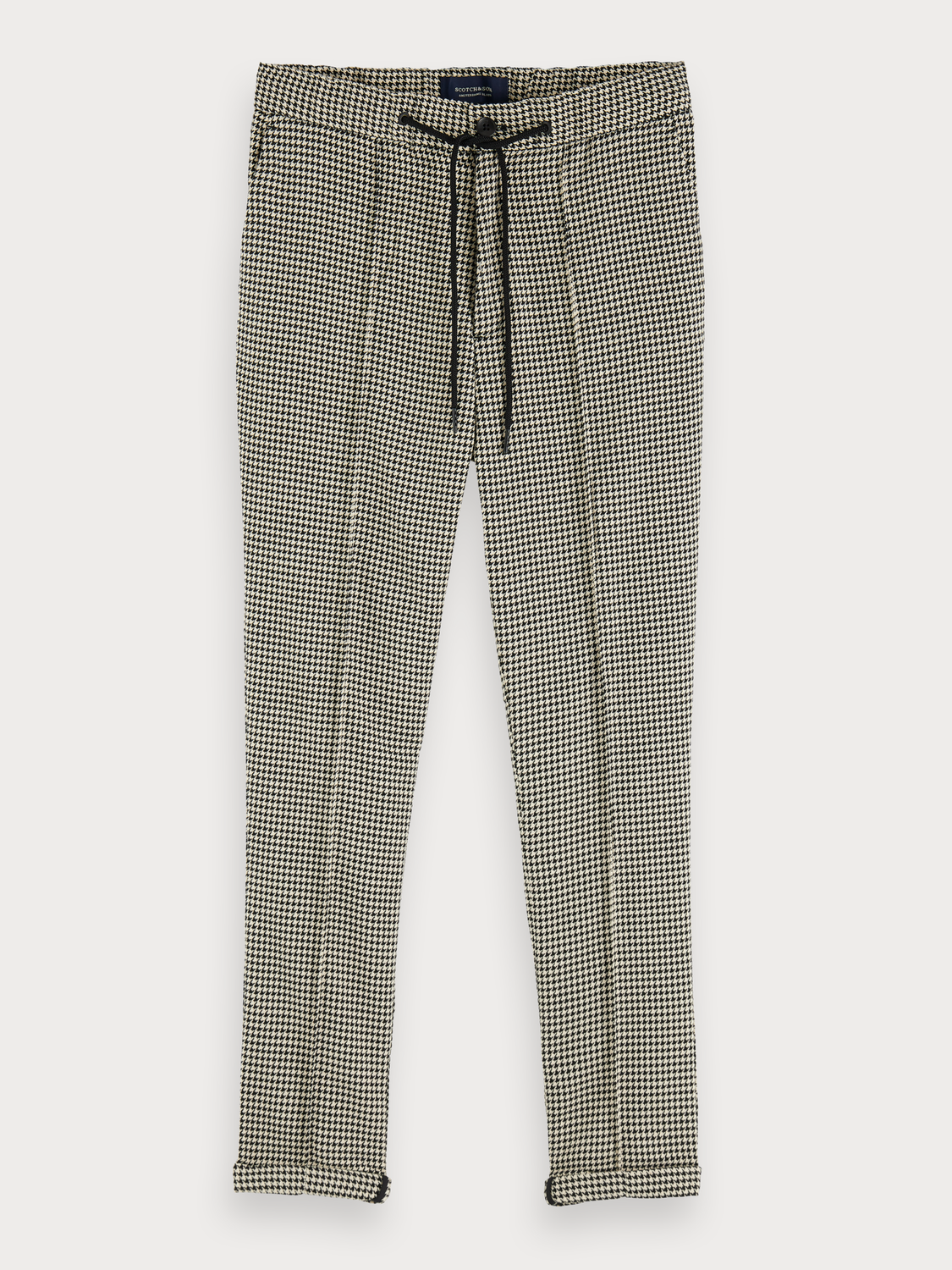 Men Houndstooth Trousers