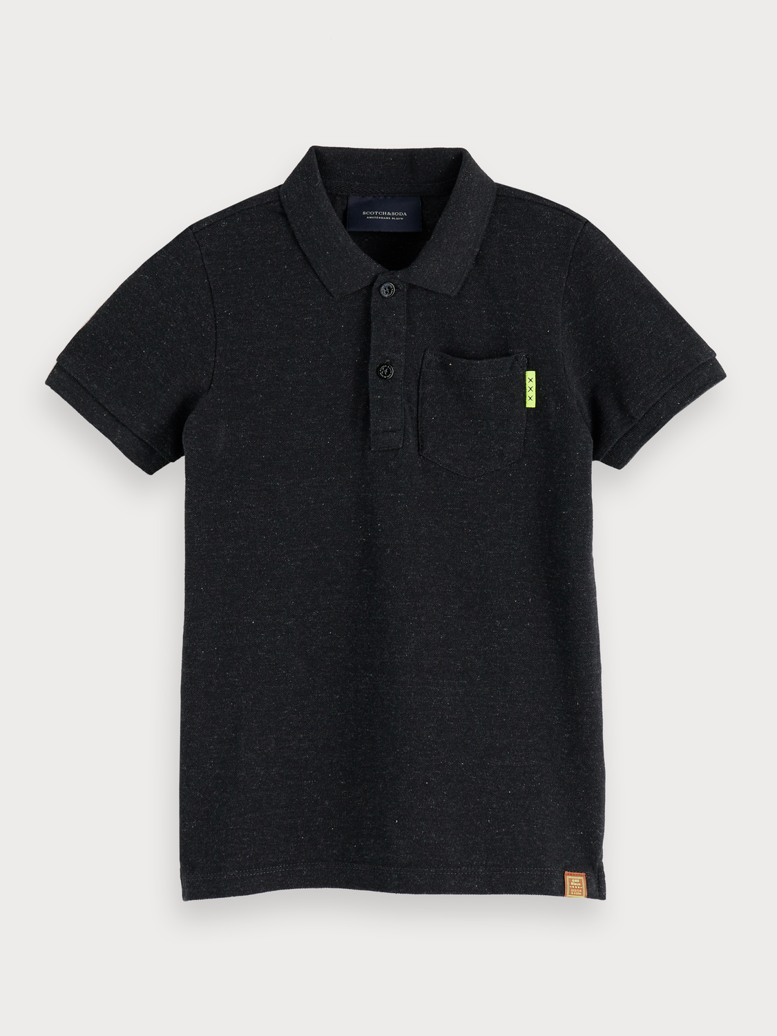 Boys Chest Pocket Polo