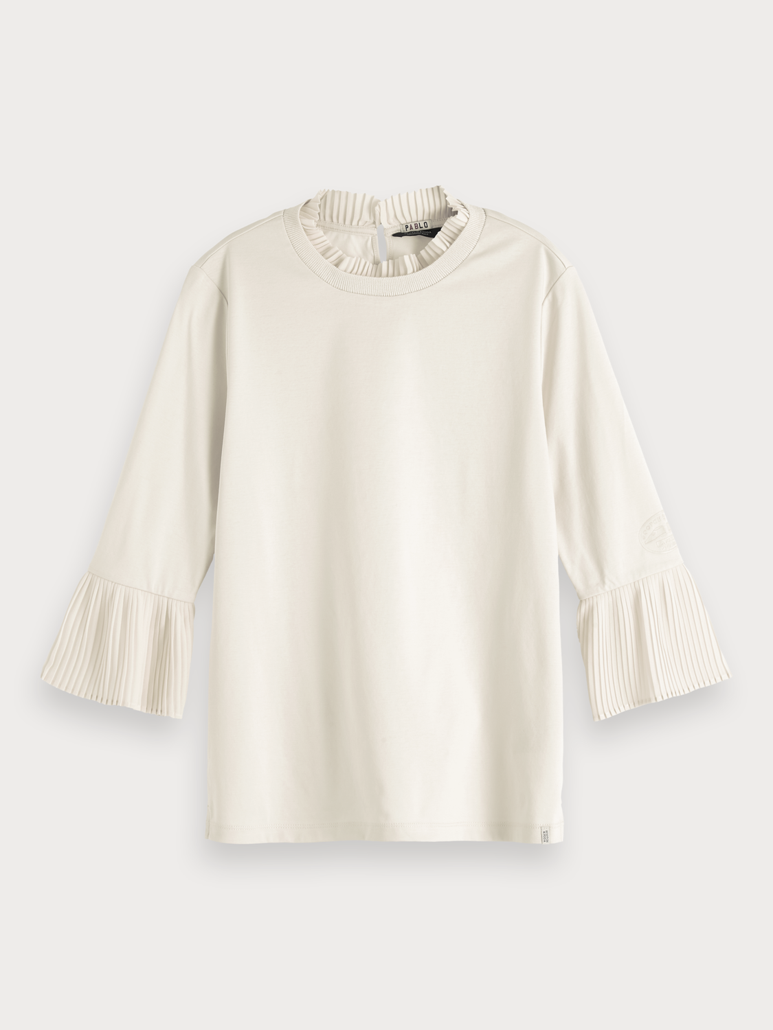 Women Pleat Detail Top
