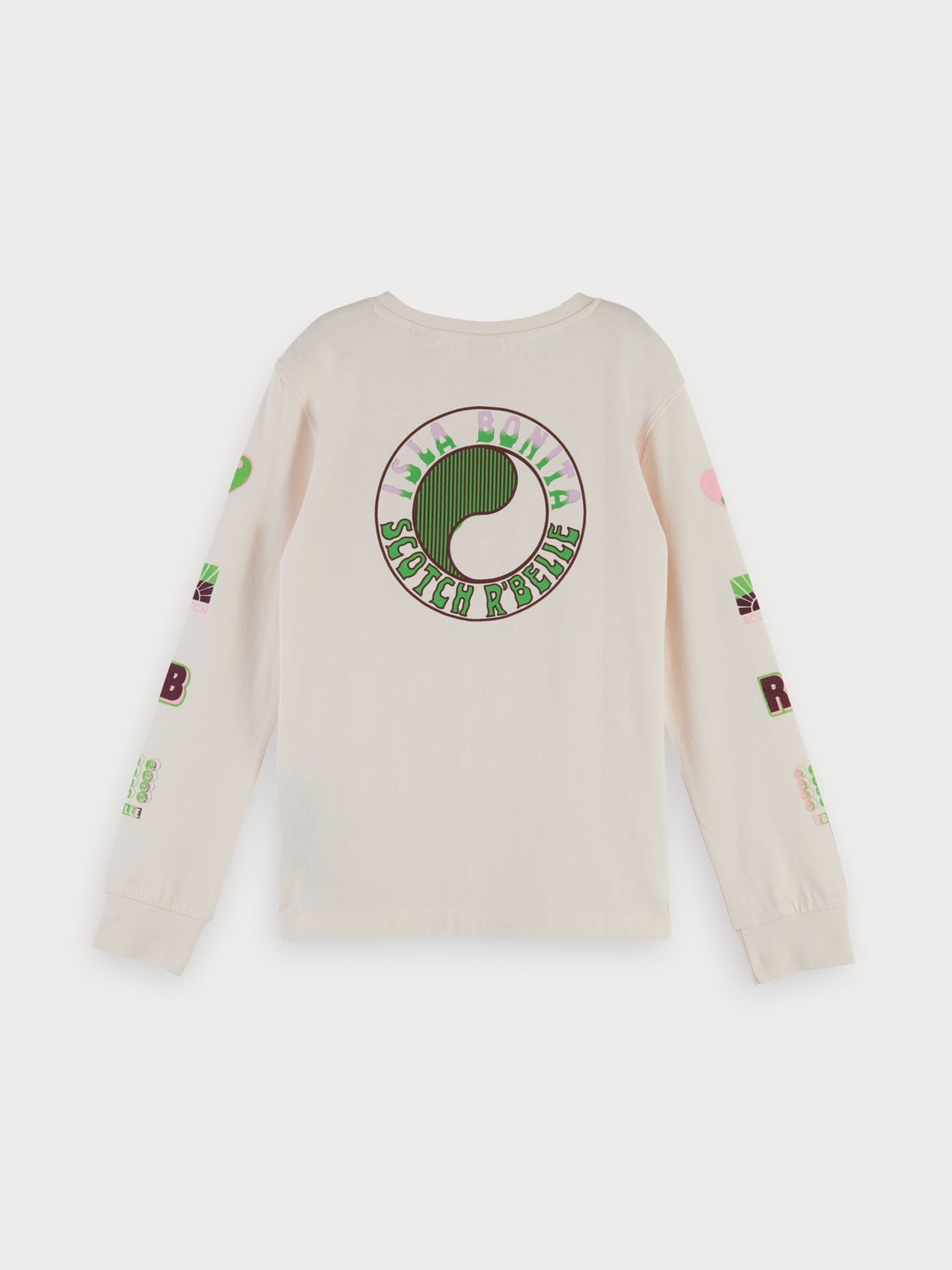 Girls Long sleeved artwork t-shirt