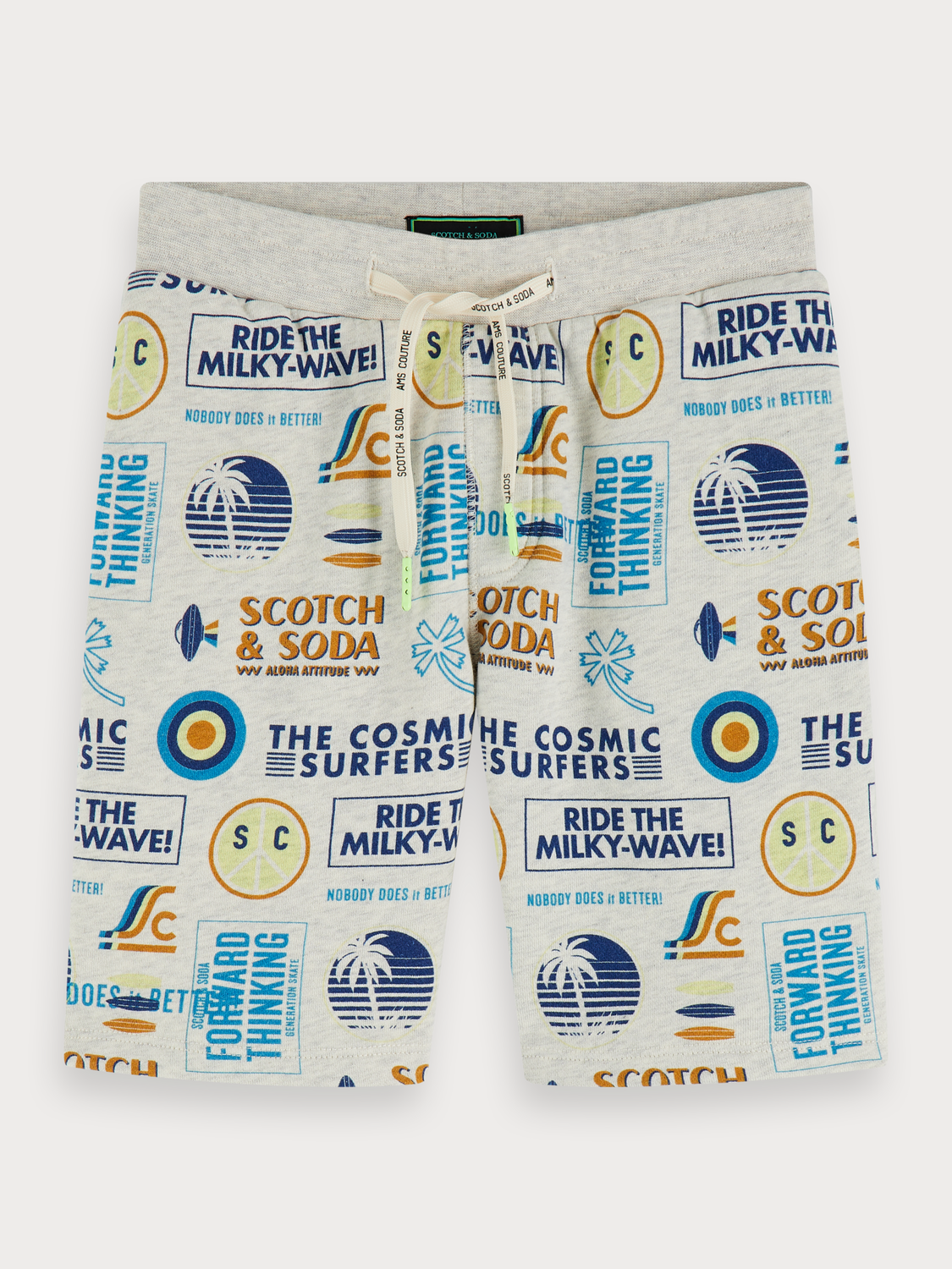 Boys All-over printed sweat shorts