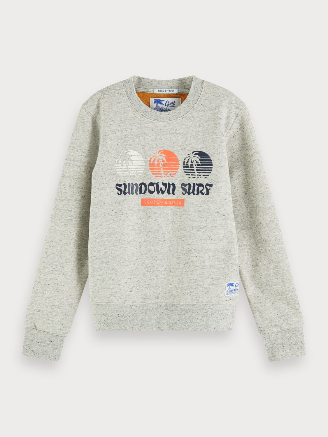 Boys Mélange artwork sweater