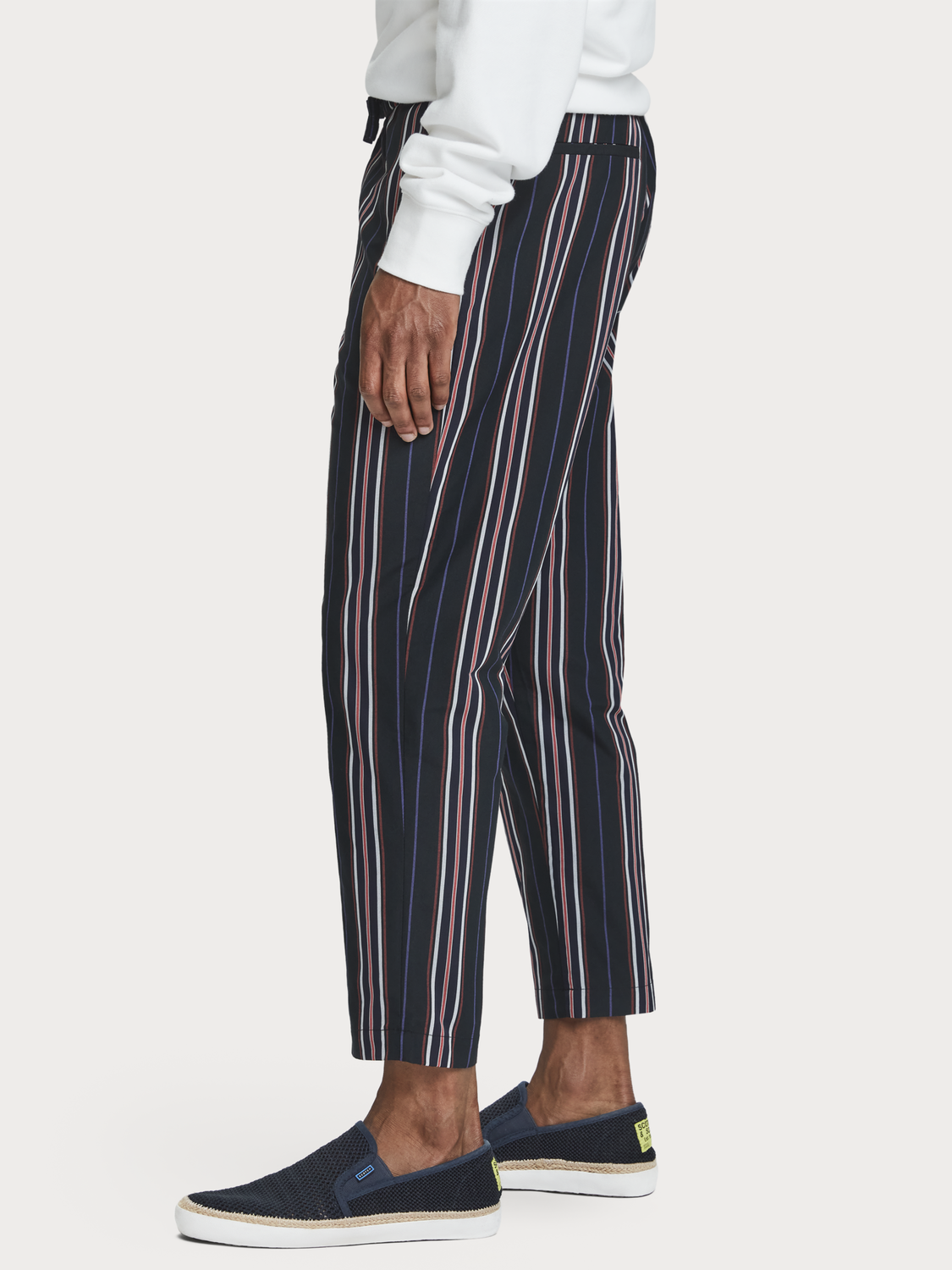 Men Loose striped trousers