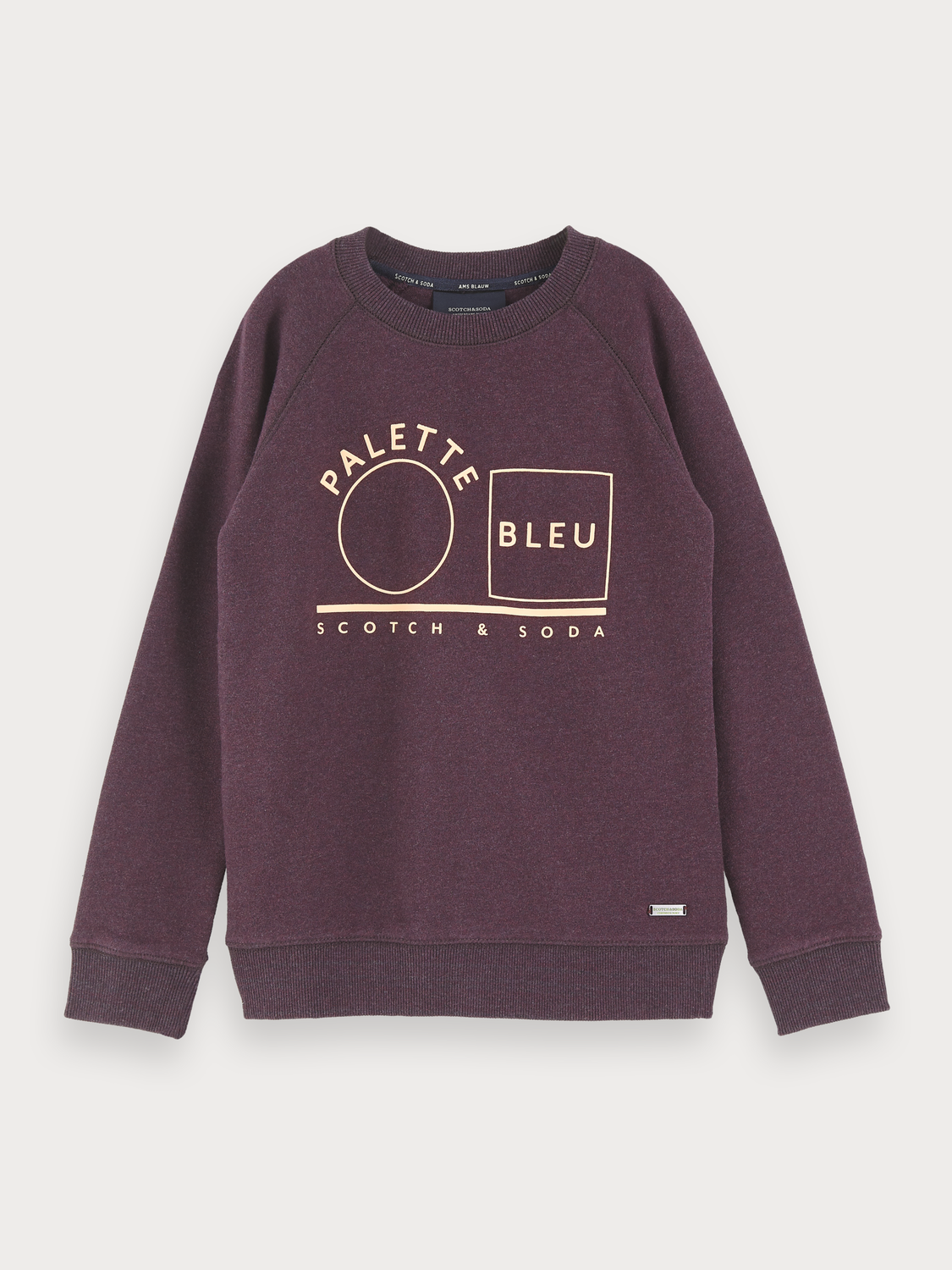 Boys Melange Artwork Sweater