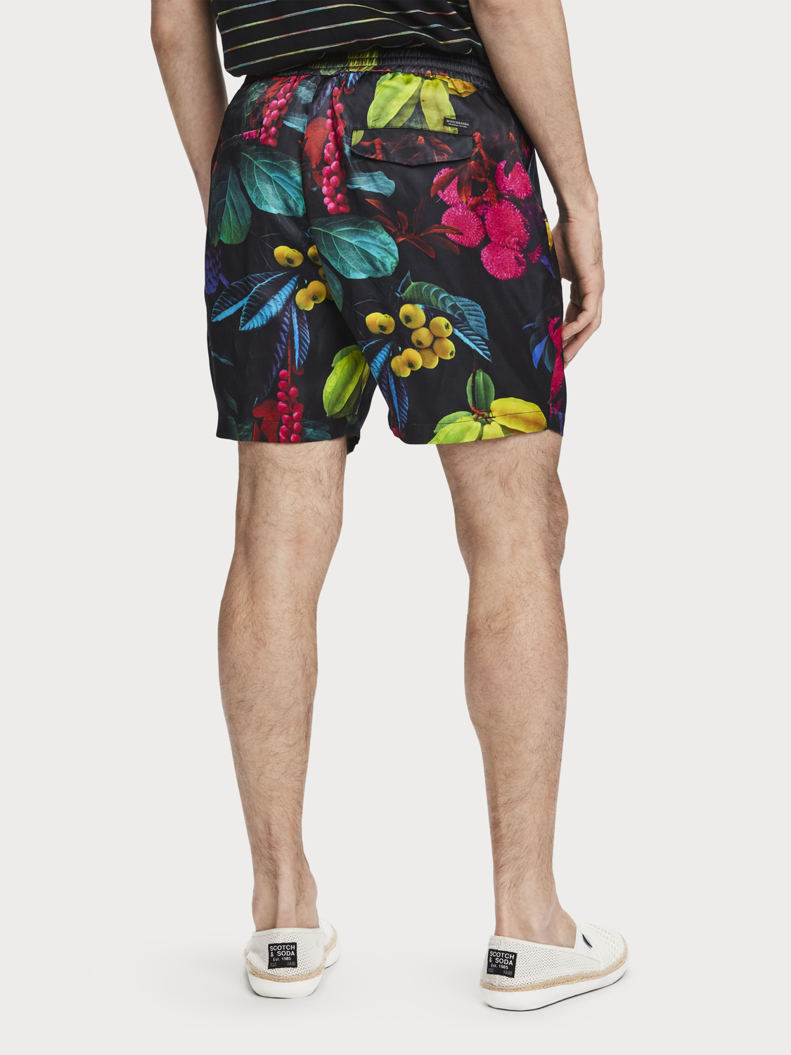 Hombre Shorts con estampado digital