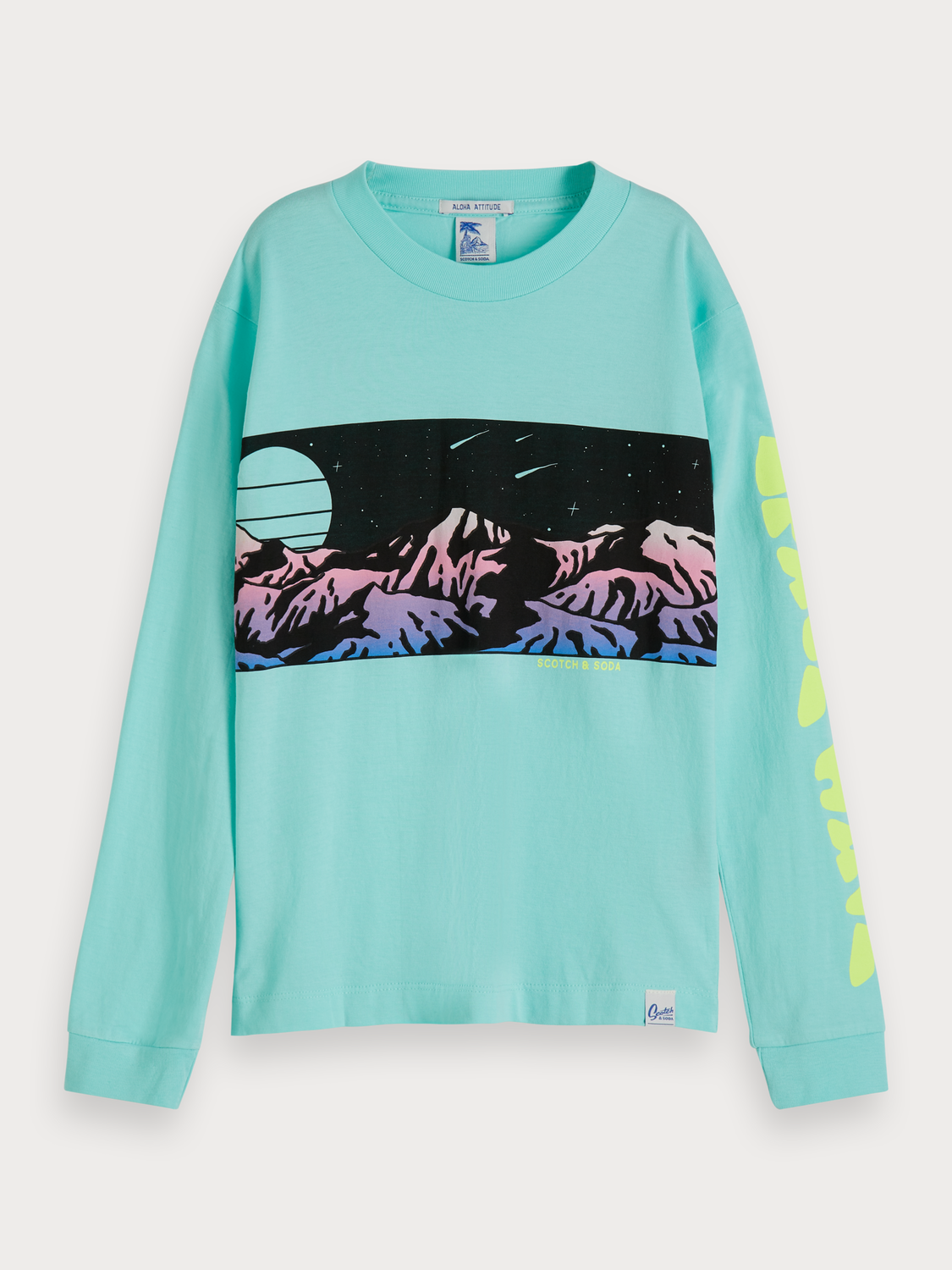 Boys Long Sleeved Artwork T-Shirt