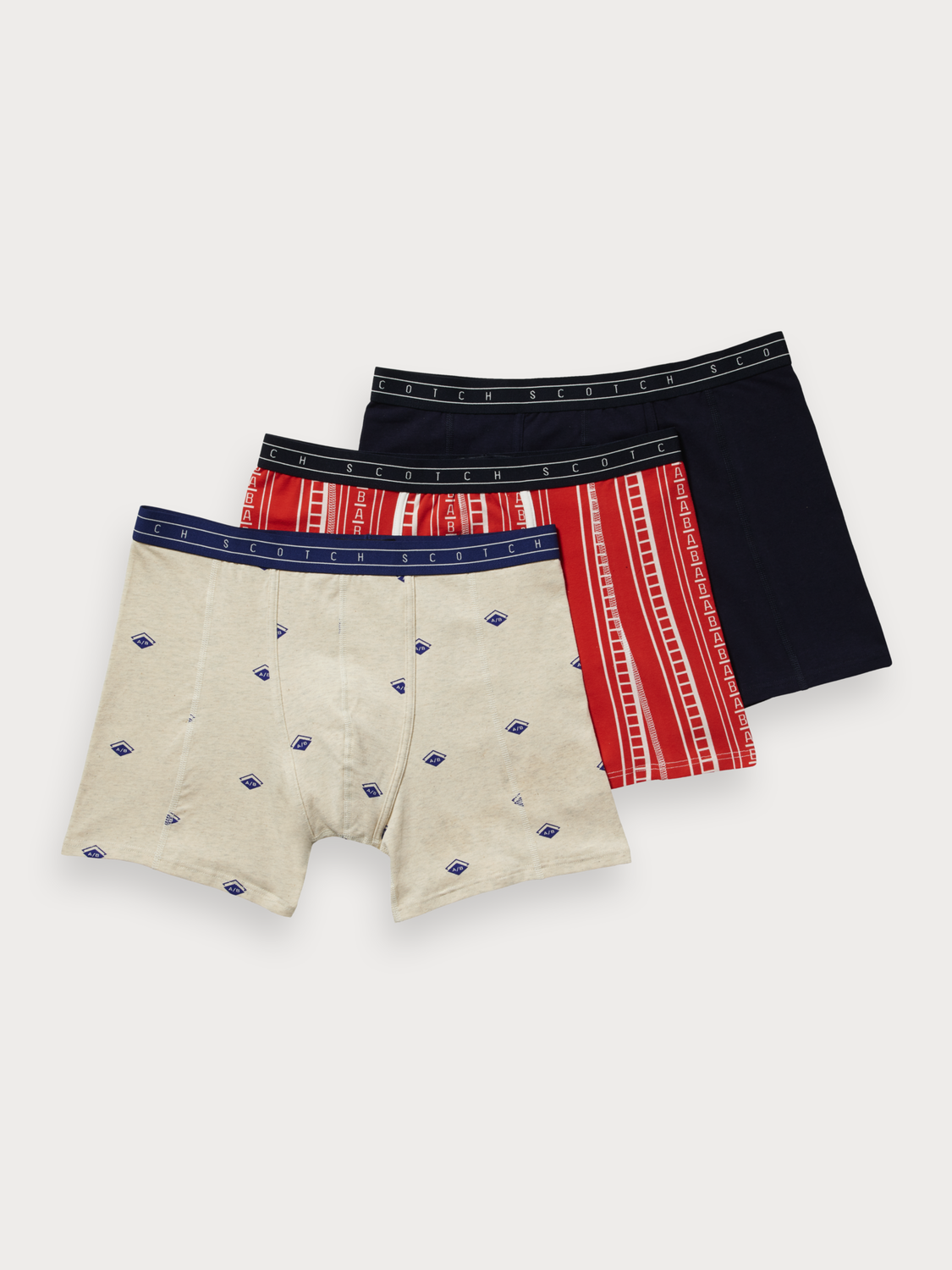 Men 3-Pack Boxer Shorts