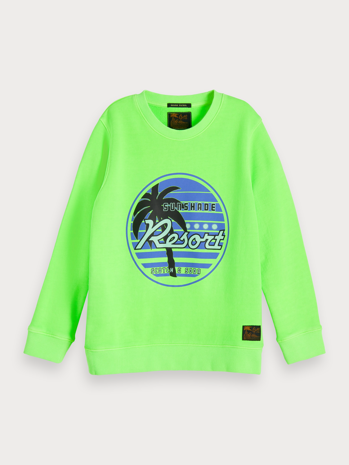 Boys Bright artwork sweater