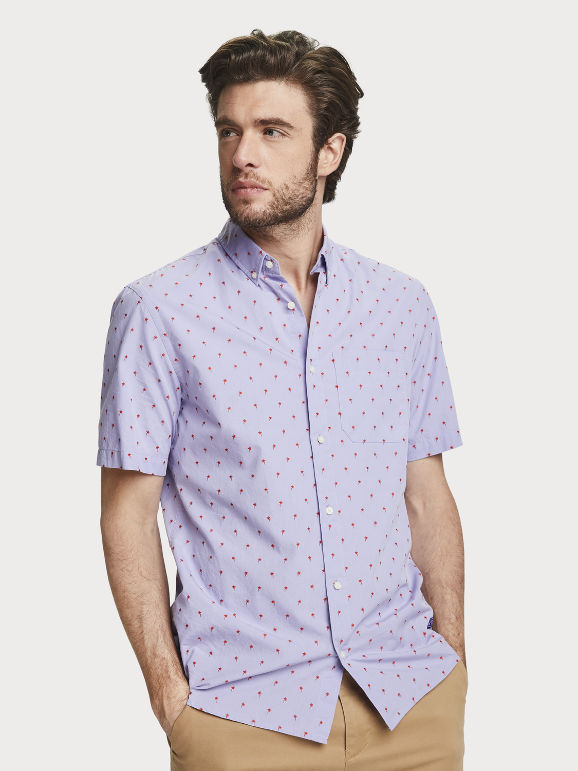 Men Fil coupé shirt | Regular fit