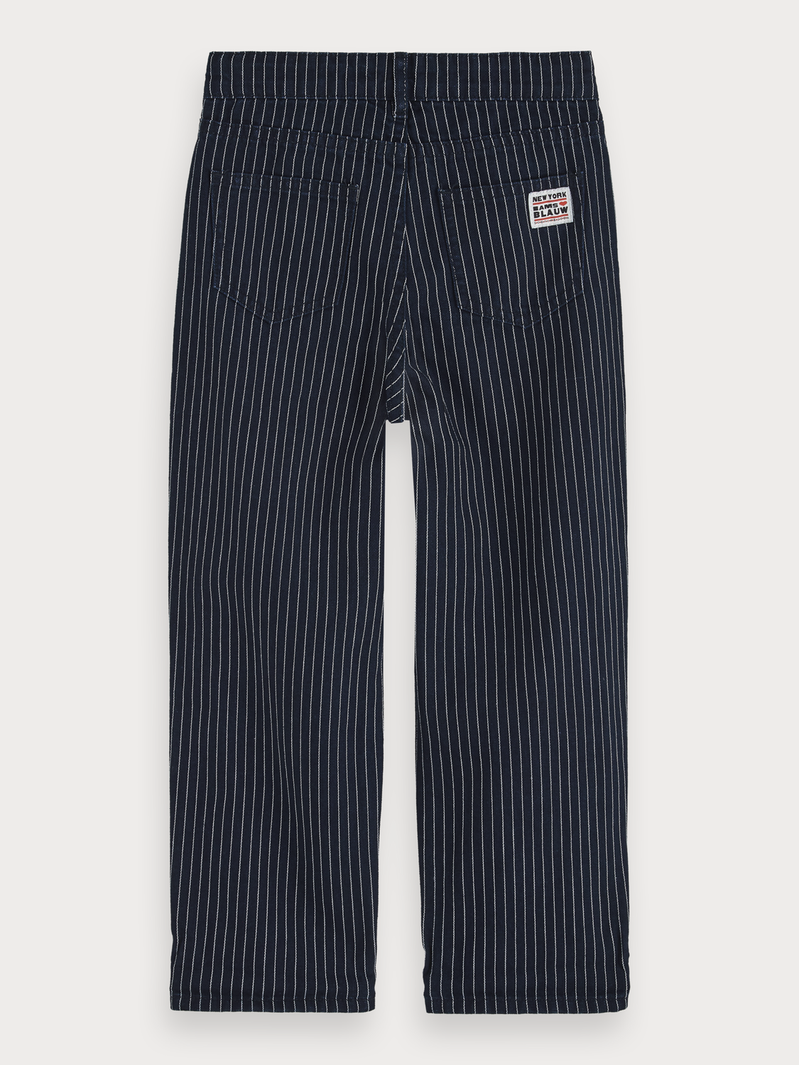 Fille Jean avec rayures hickory