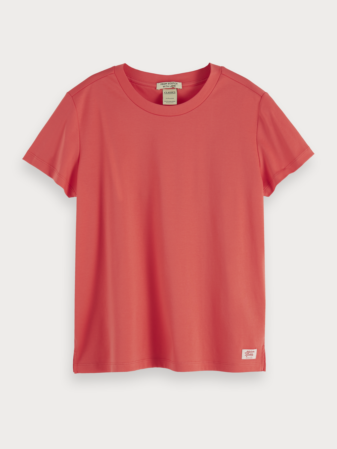Women Mercerised jersey t-shirt