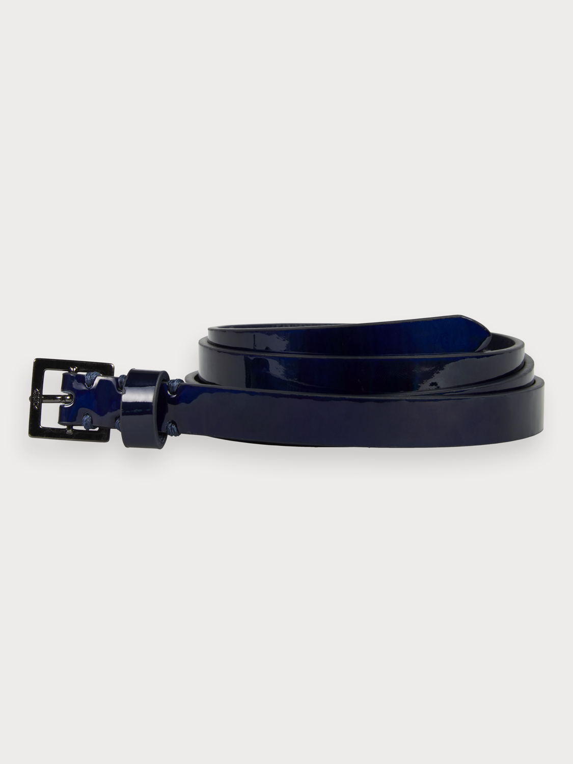 Women Shiny Leather Belt