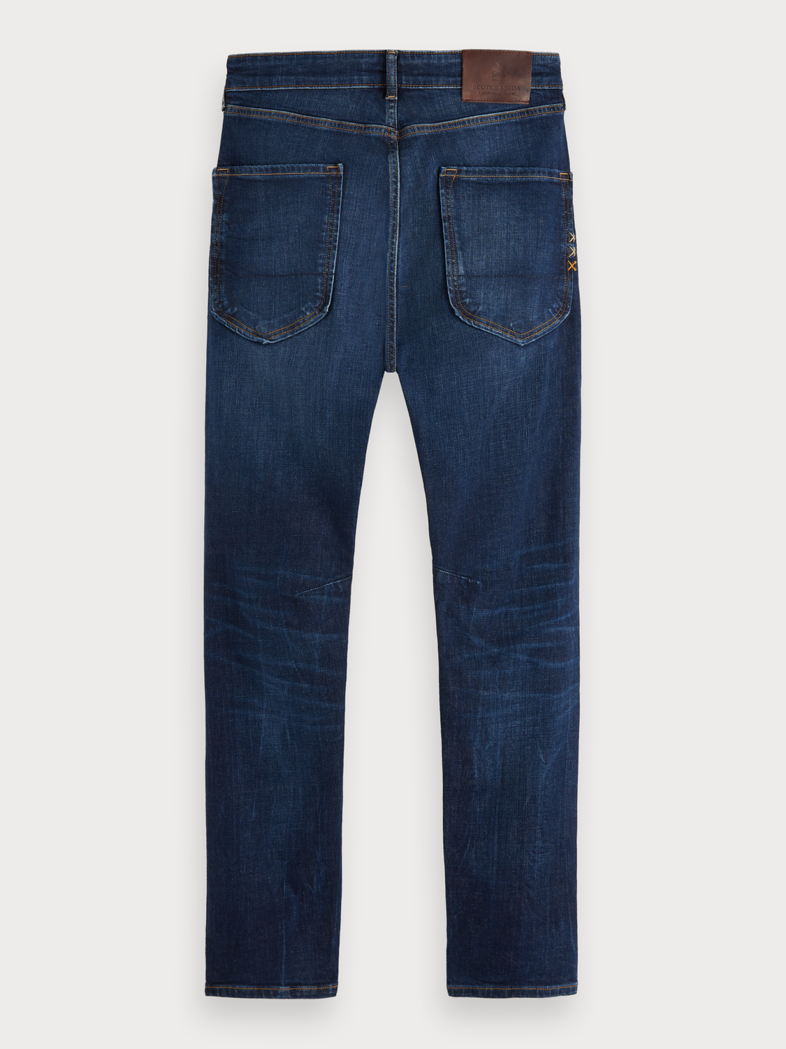 Men Dean - Icon Blauw | Loose tapered fit