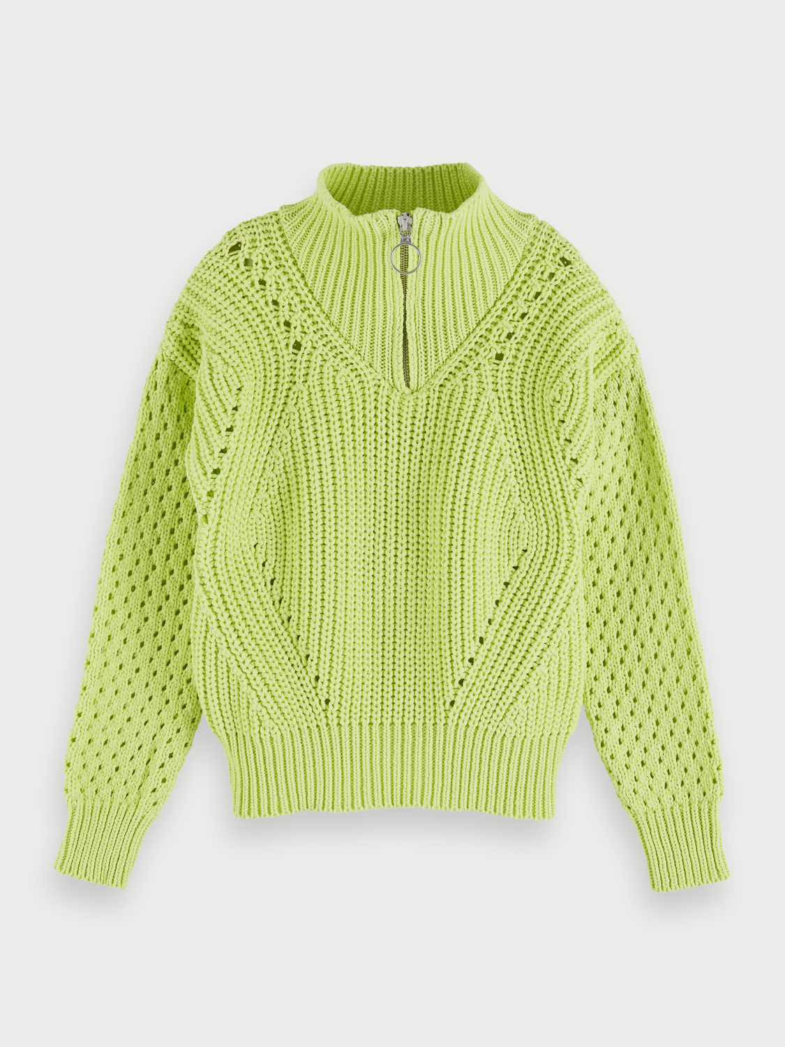 Girls Chunky knit pullover