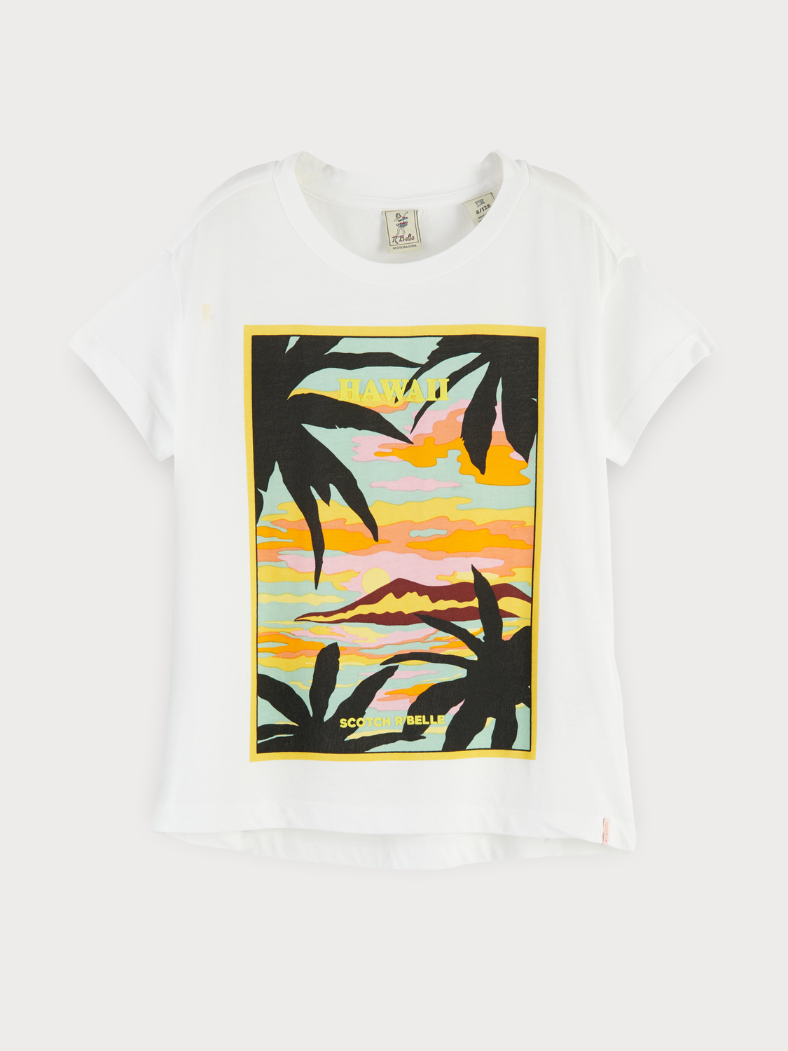 Girls Hawaiian Artwork T-Shirt