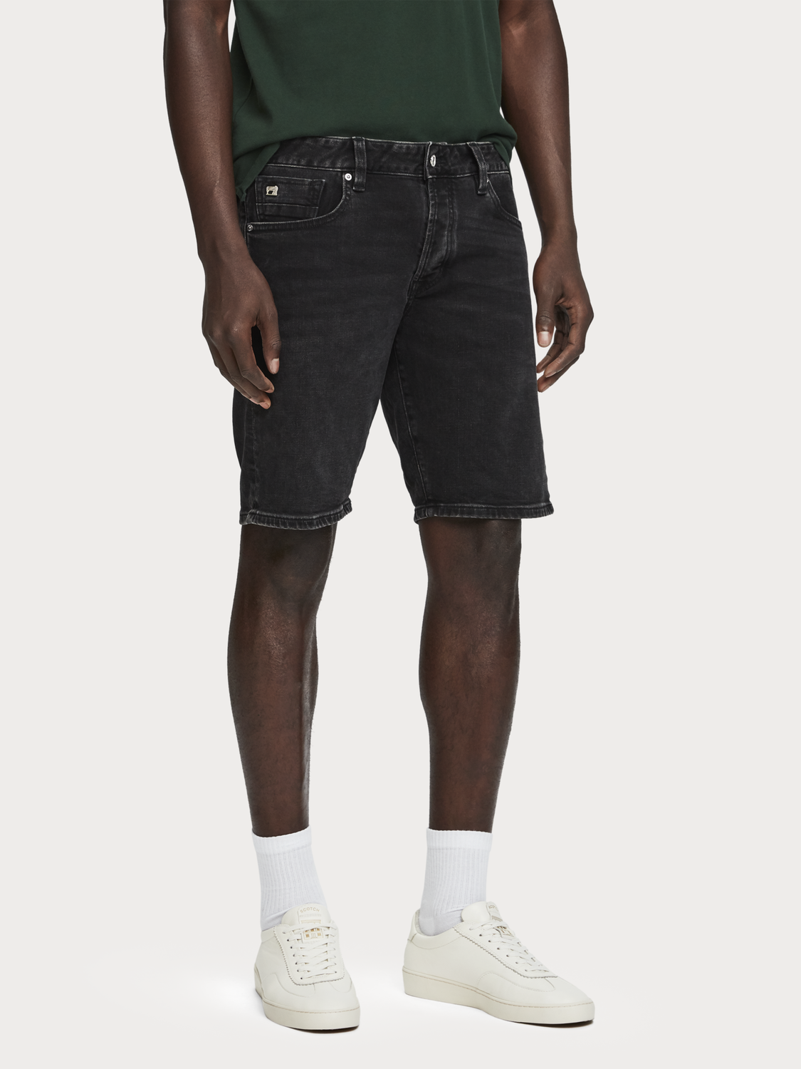 Men Ralston Short - Blackout | Regular slim fit