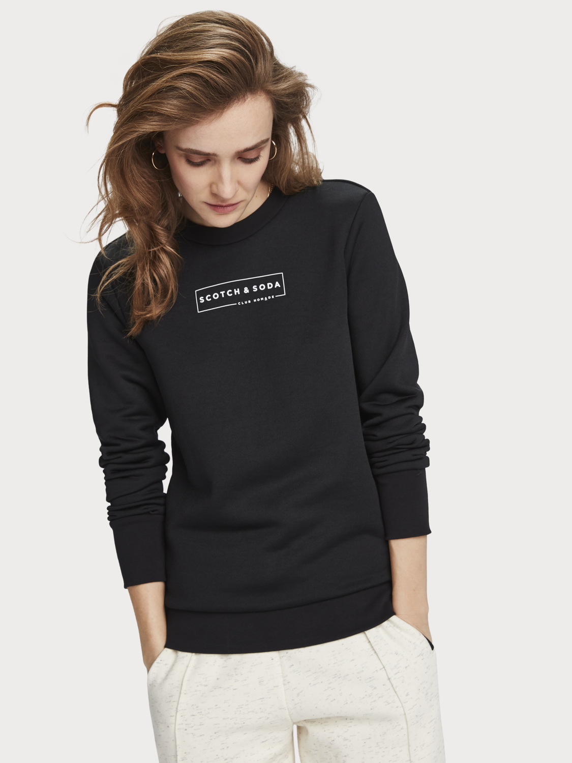Women Logo Detail Sweater