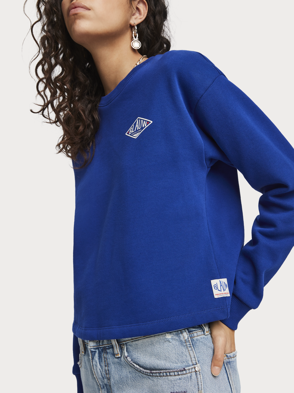Women Logo Artwork Sweater