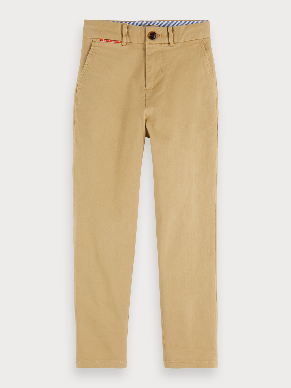 Boys Peached cotton chinos