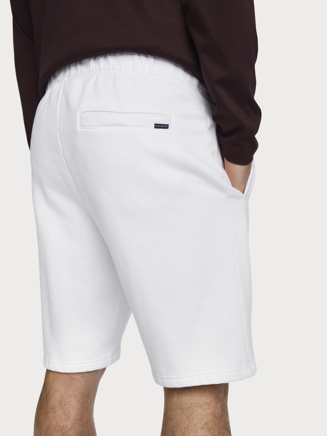 Men Relaxed Sweat Shorts