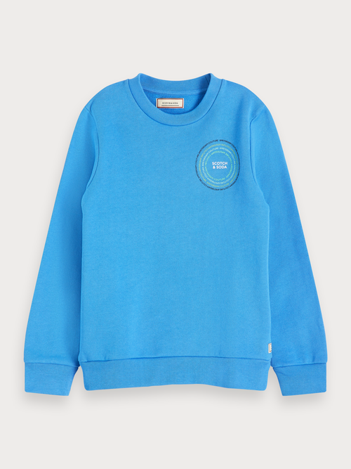 Basic sweater met ronde hals