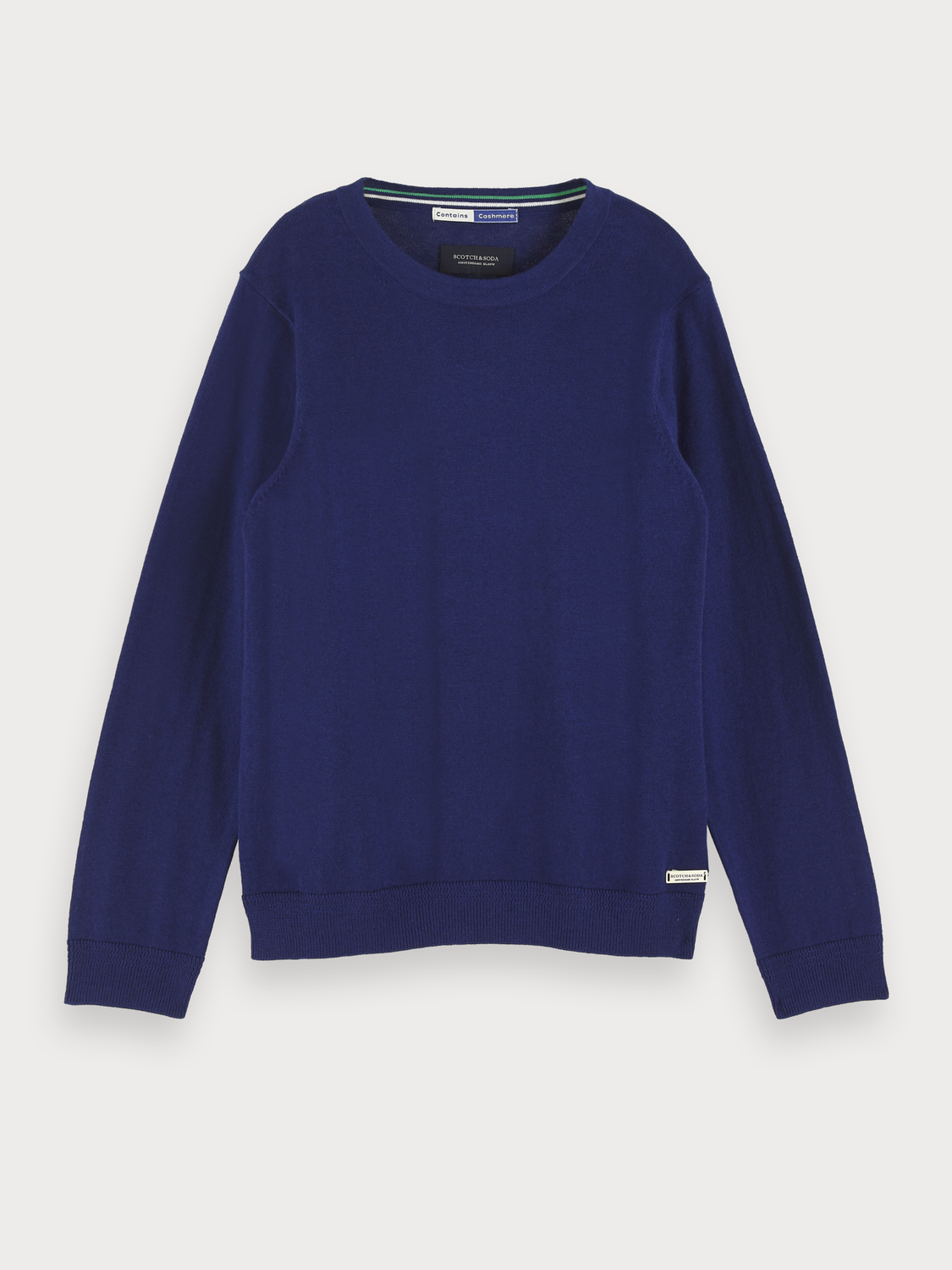Boys Cotton-Cashmere Pullover