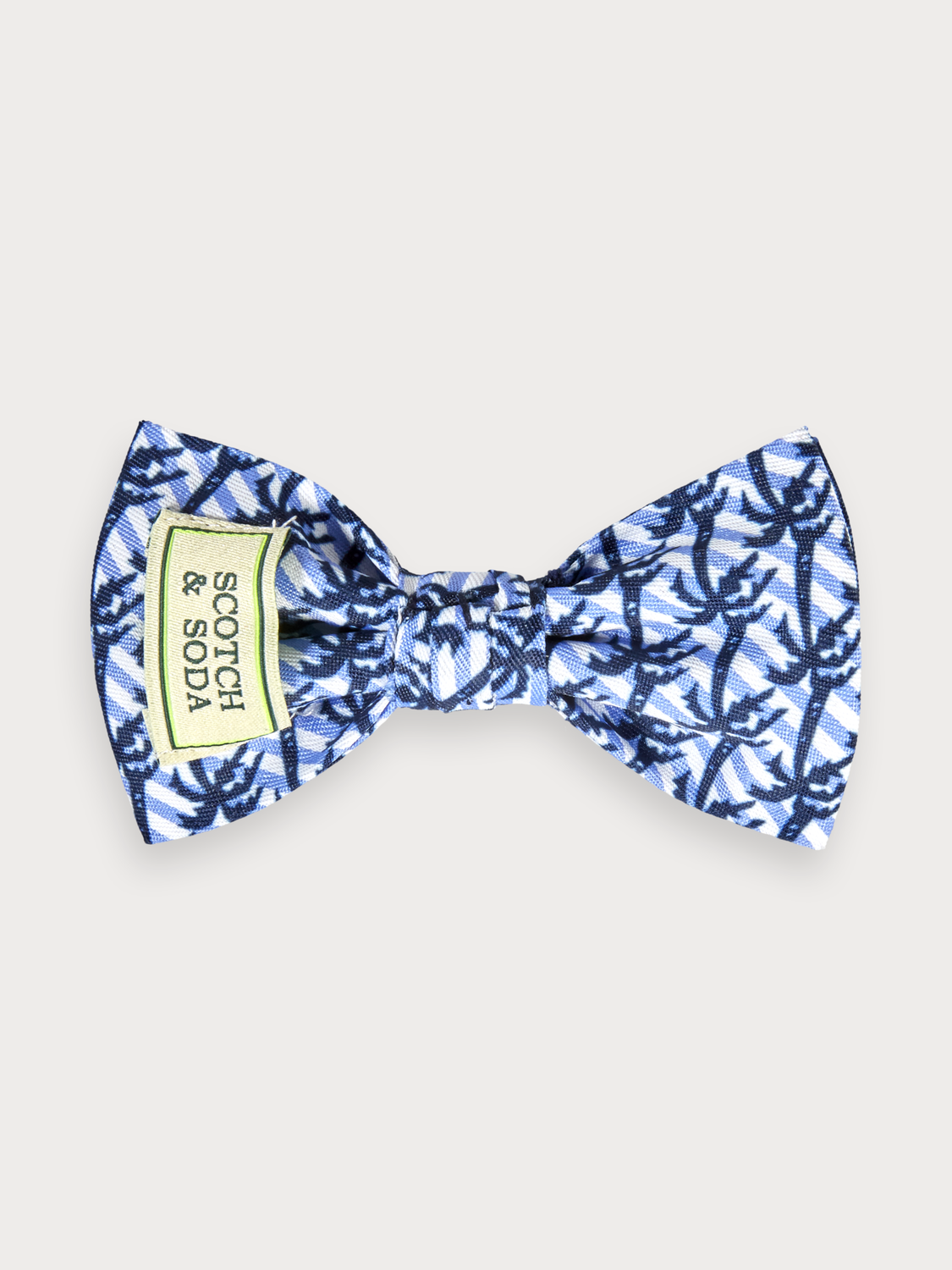 Pojkar Printed clip-on bow tie