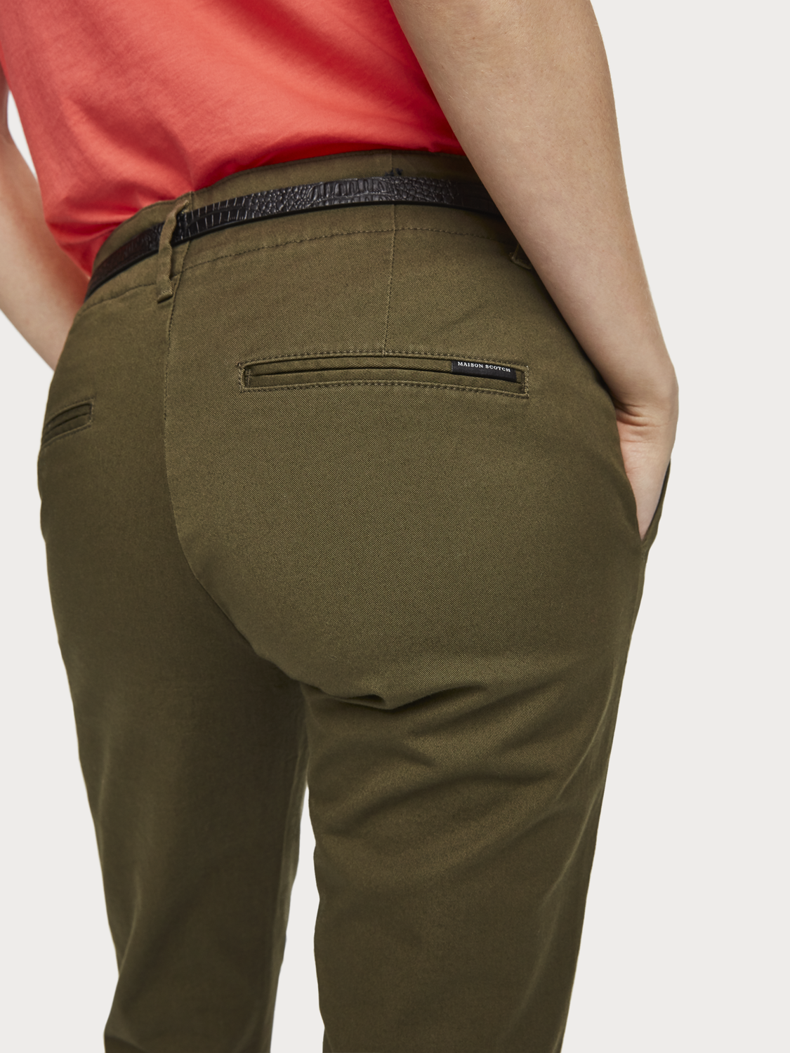 Women Slim Fit Chinos