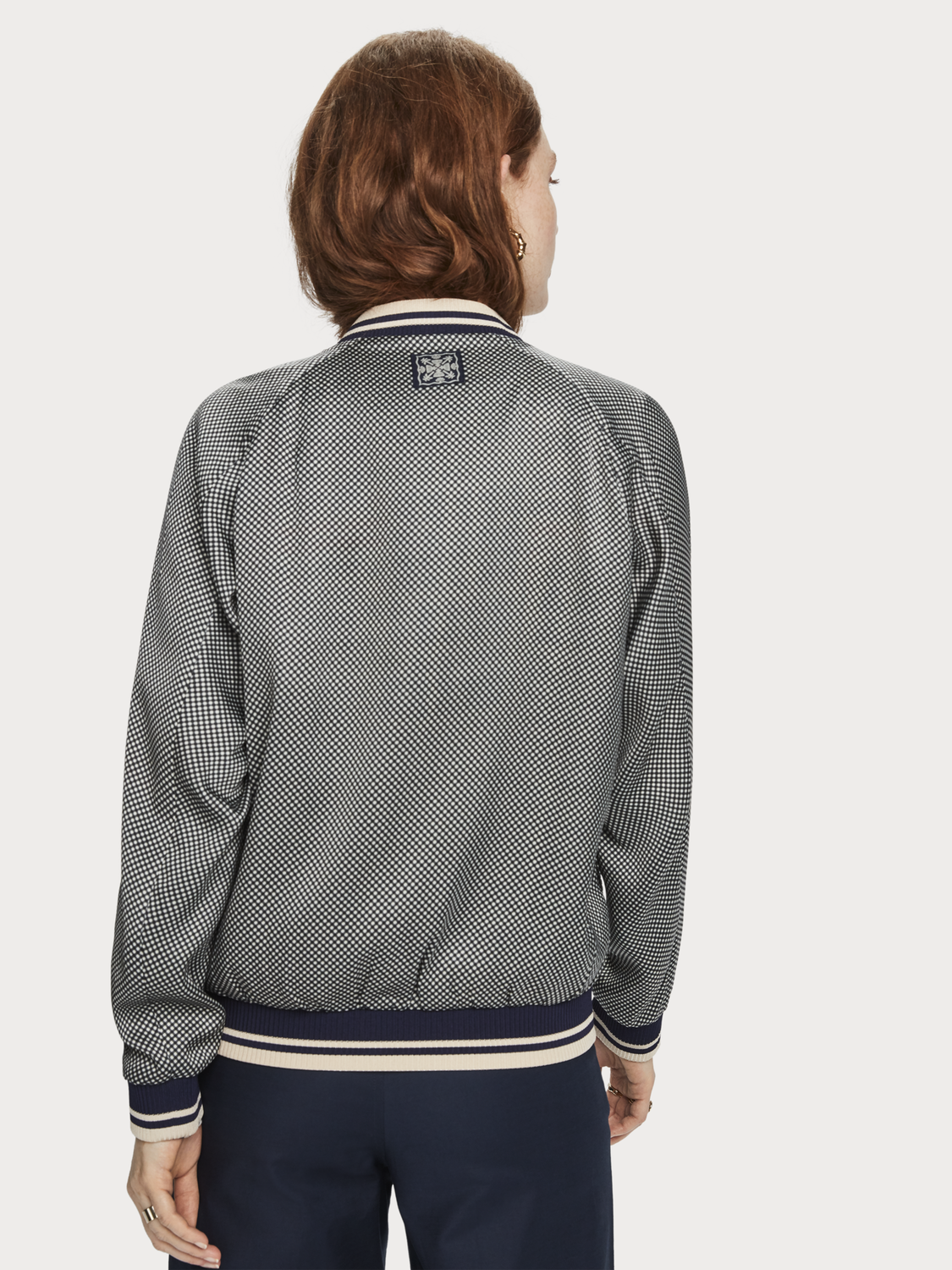Women Reversible Bomber Jacket