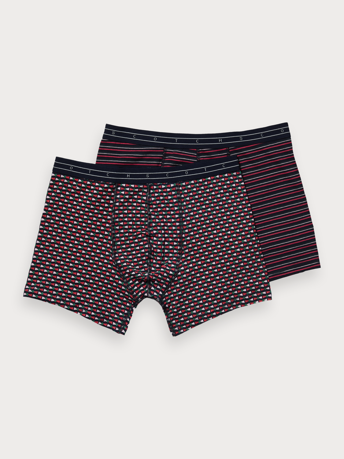 Homme Lot de deux boxers stretch
