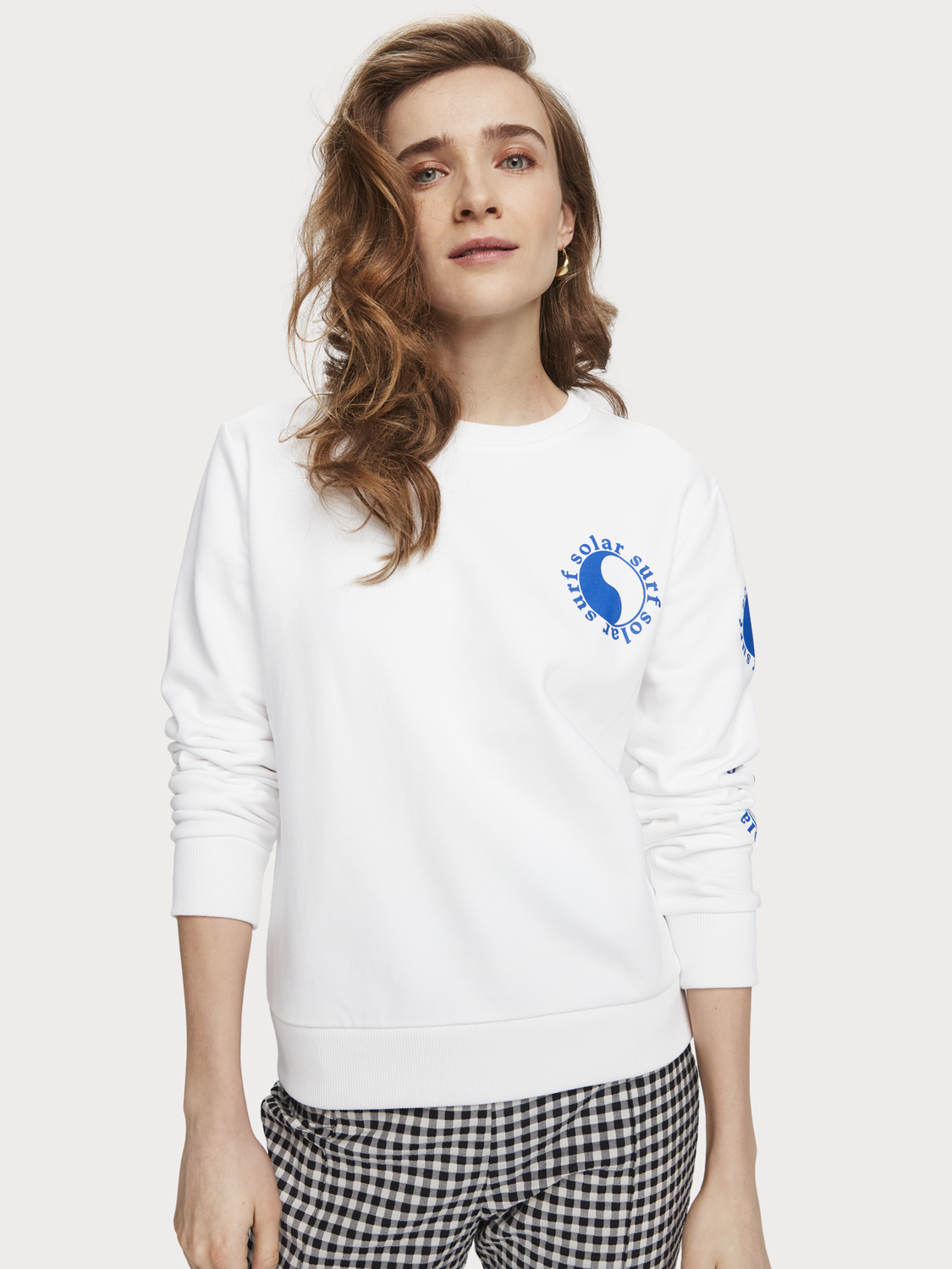 Dames Sweater met artworkprint