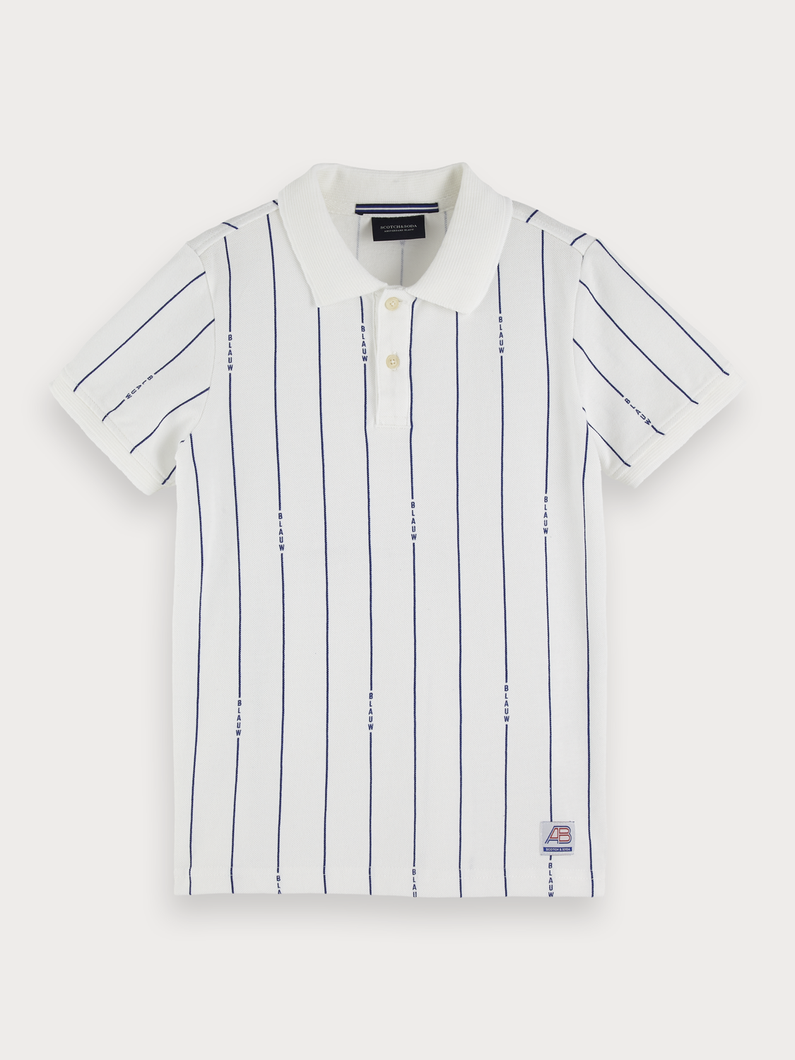Boys Patterned Polo