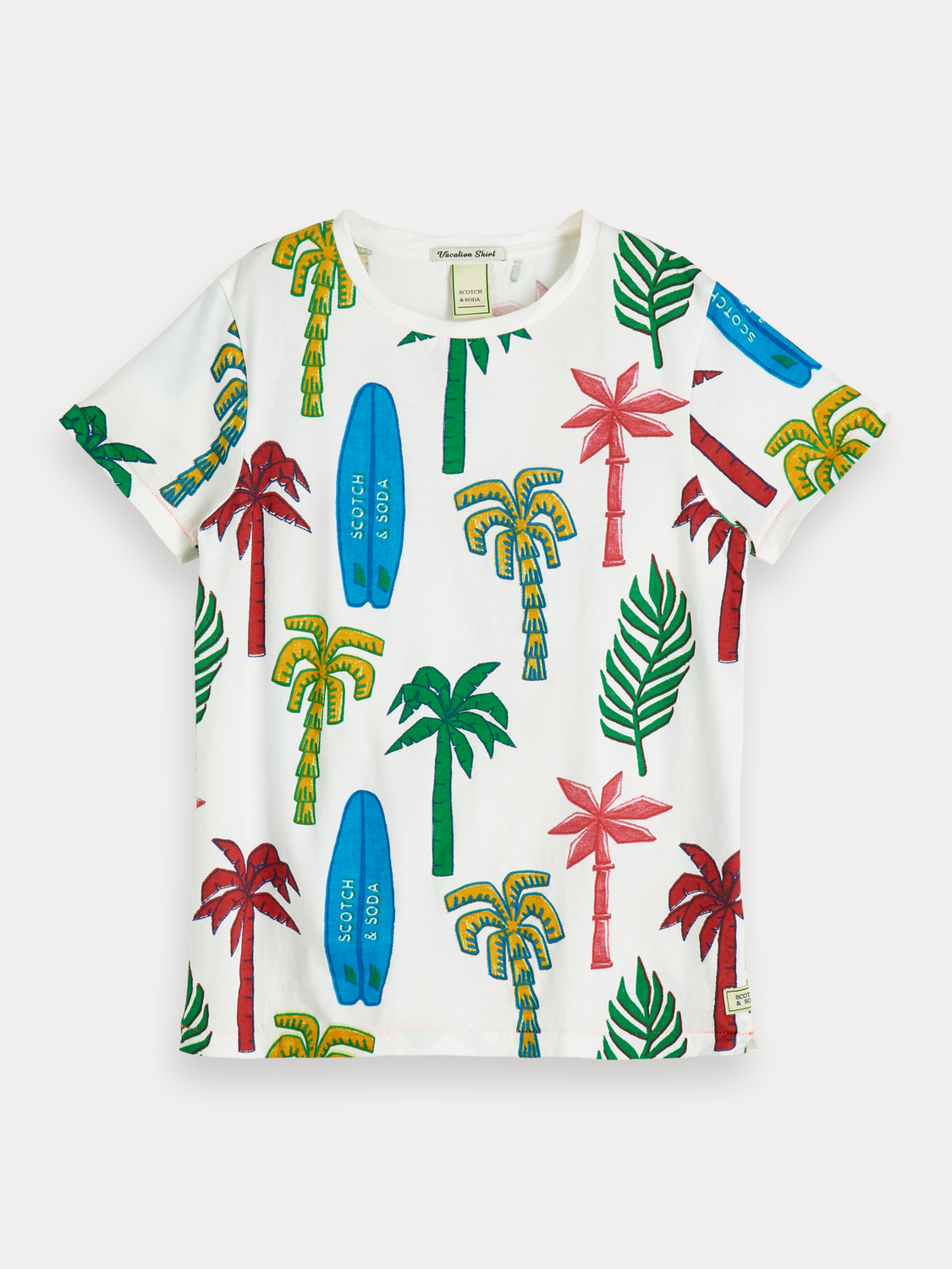 Jongens T-shirt met all-over print