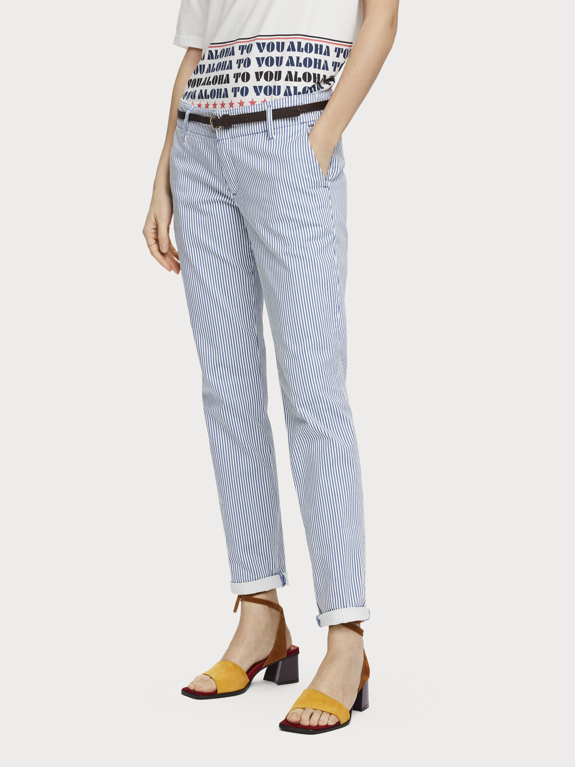 Femme Chino slim fit