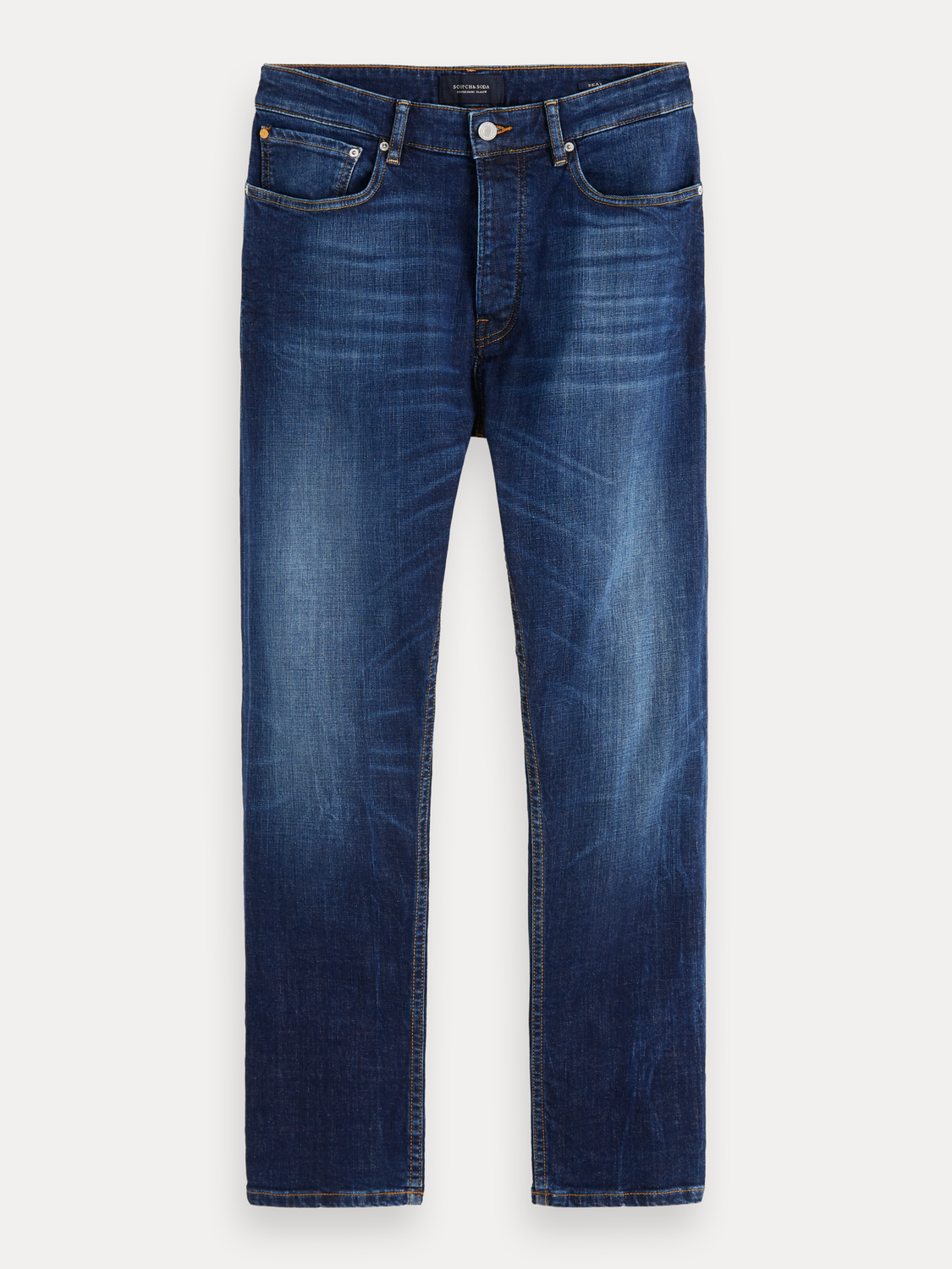 Homme Dean - Icon Blauw | Loose tapered fit
