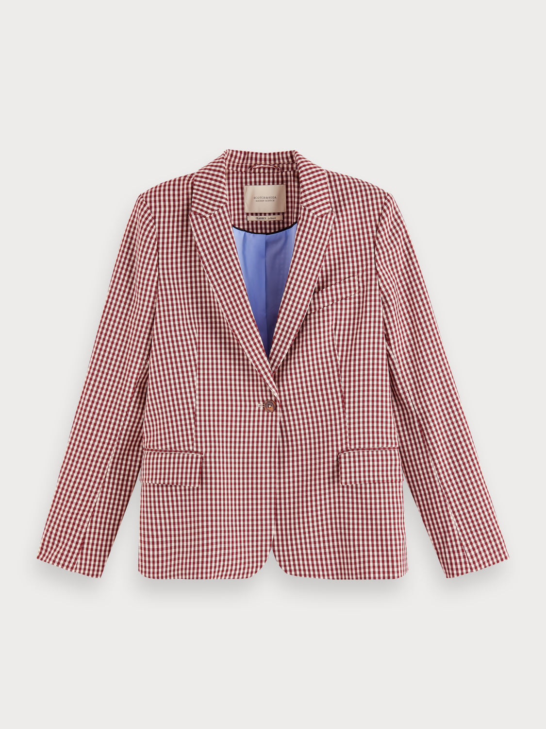 Women Tailored Stretch Blazer