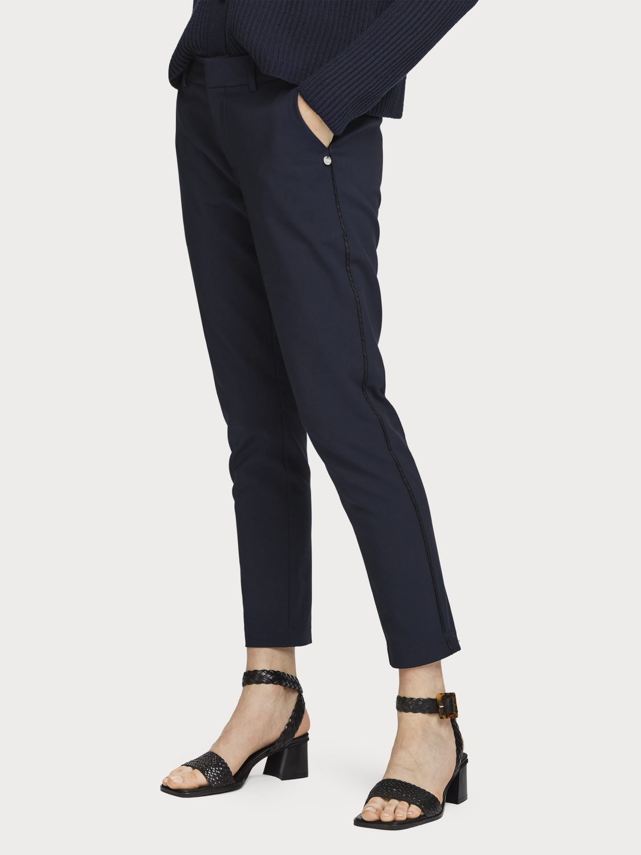 Mujer Pantalones de vestir elásticos