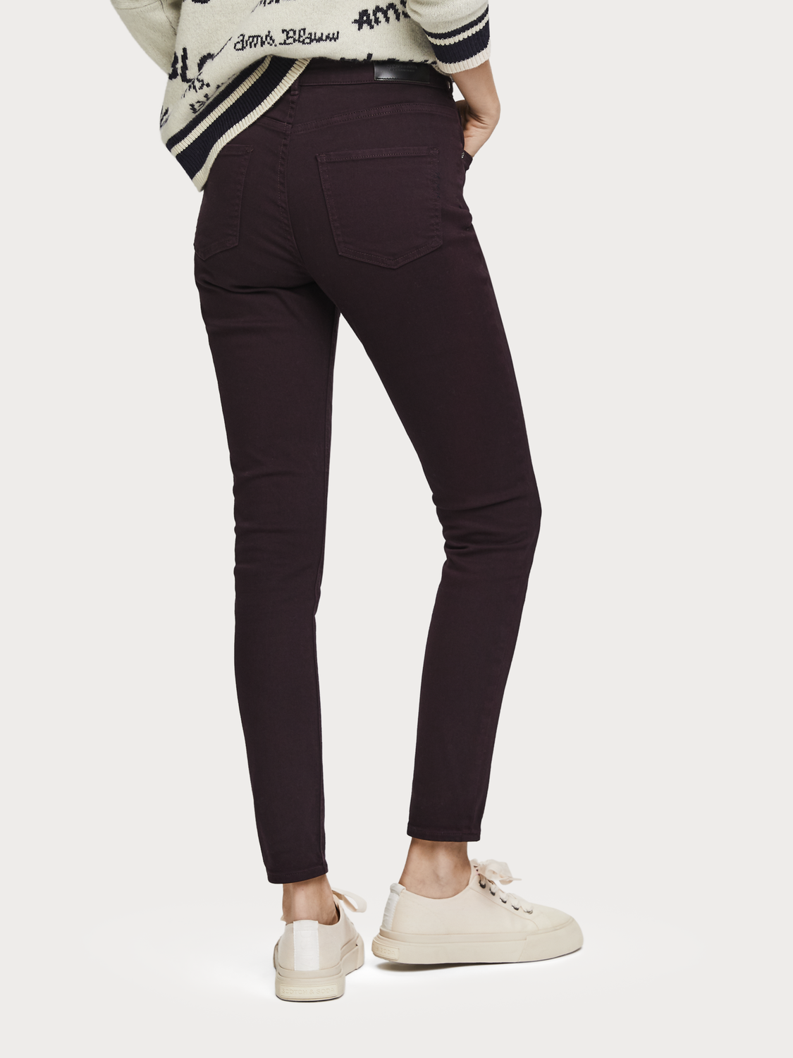 Women Haut - Garment Dyed Jeans   High rise skinny fit