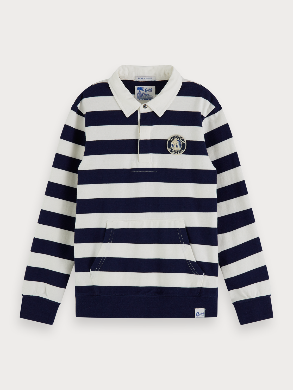 Boys Rugby stripe sweater